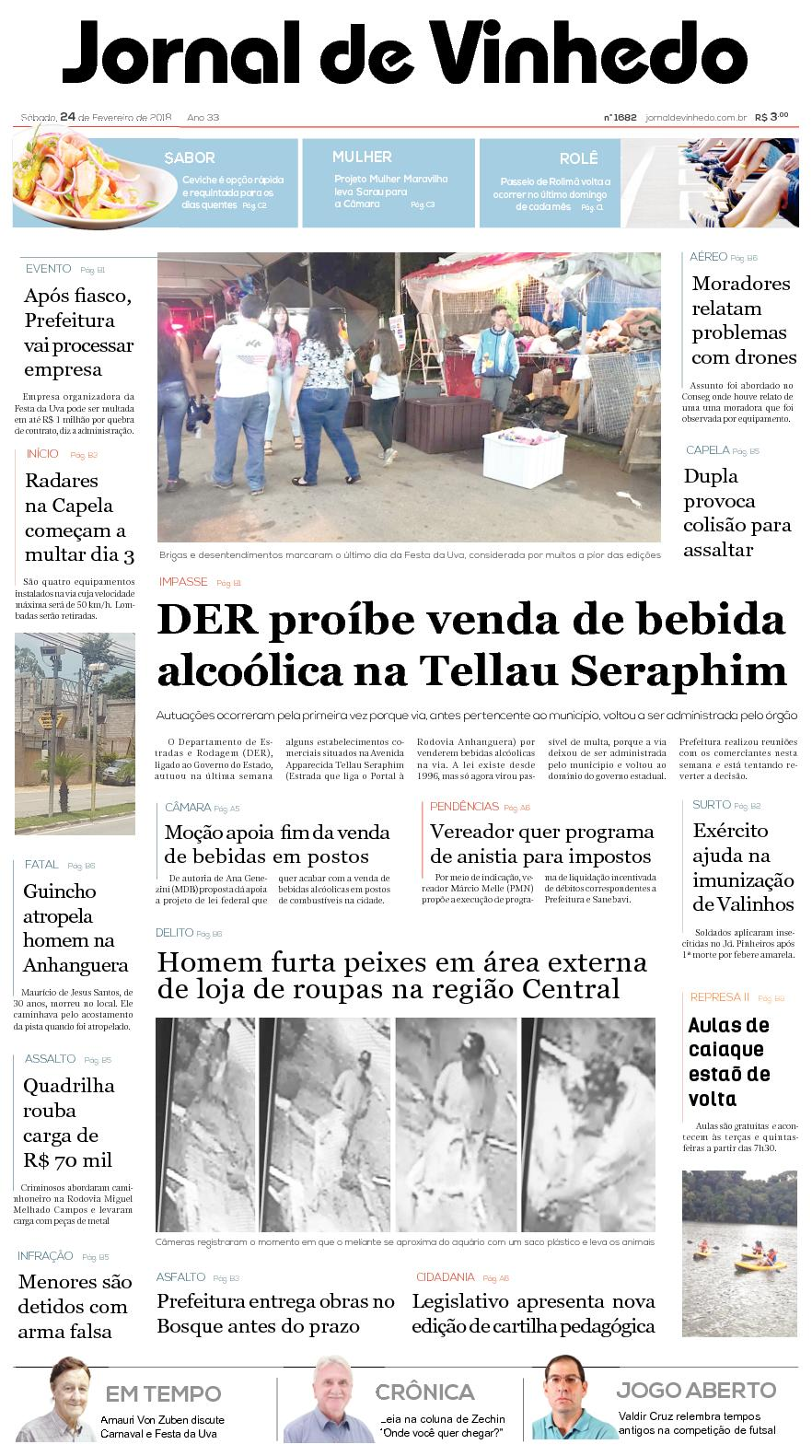 64bc68d3e47bc Calaméo - Jornal De Vinhedo Sabado 24 De Fevereiro De 2018 Edic1682