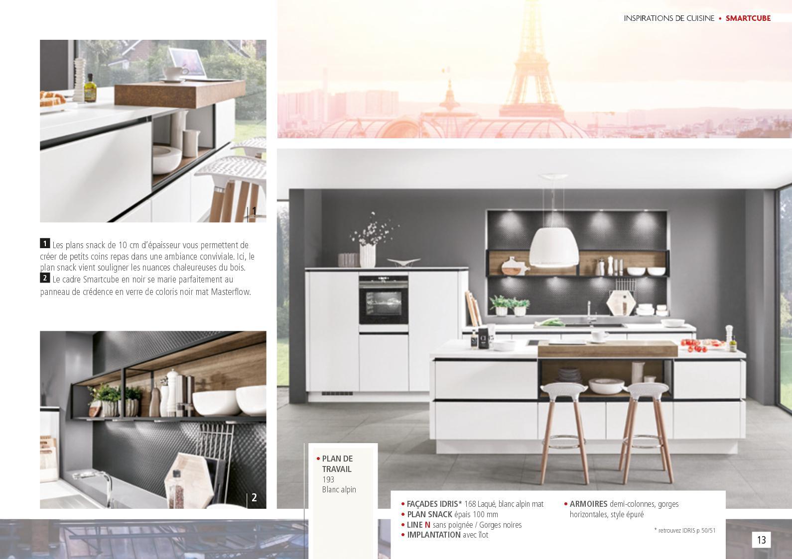Credence Verre Ilot Central catalogue cuisine zelig 2018 - calameo downloader