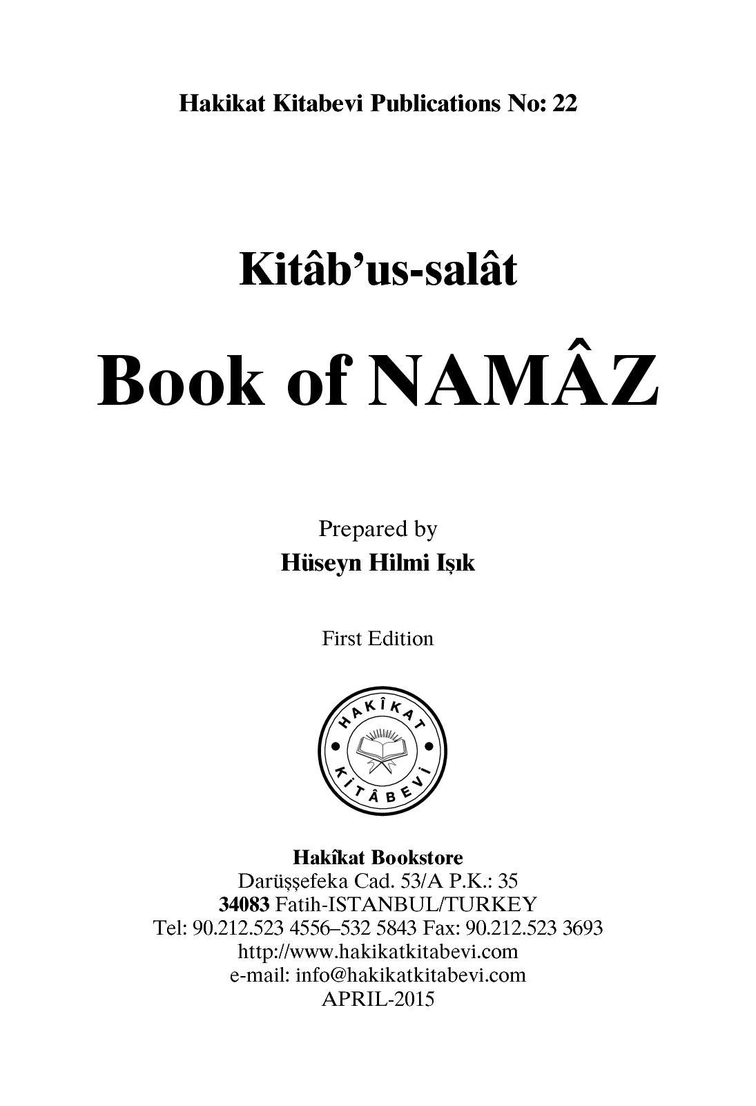 Calaméo - Book Of Namaz