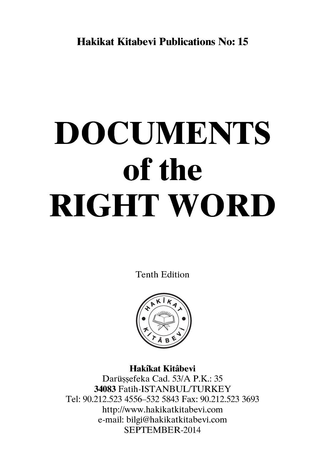 Calaméo - Documents Of The Right Word