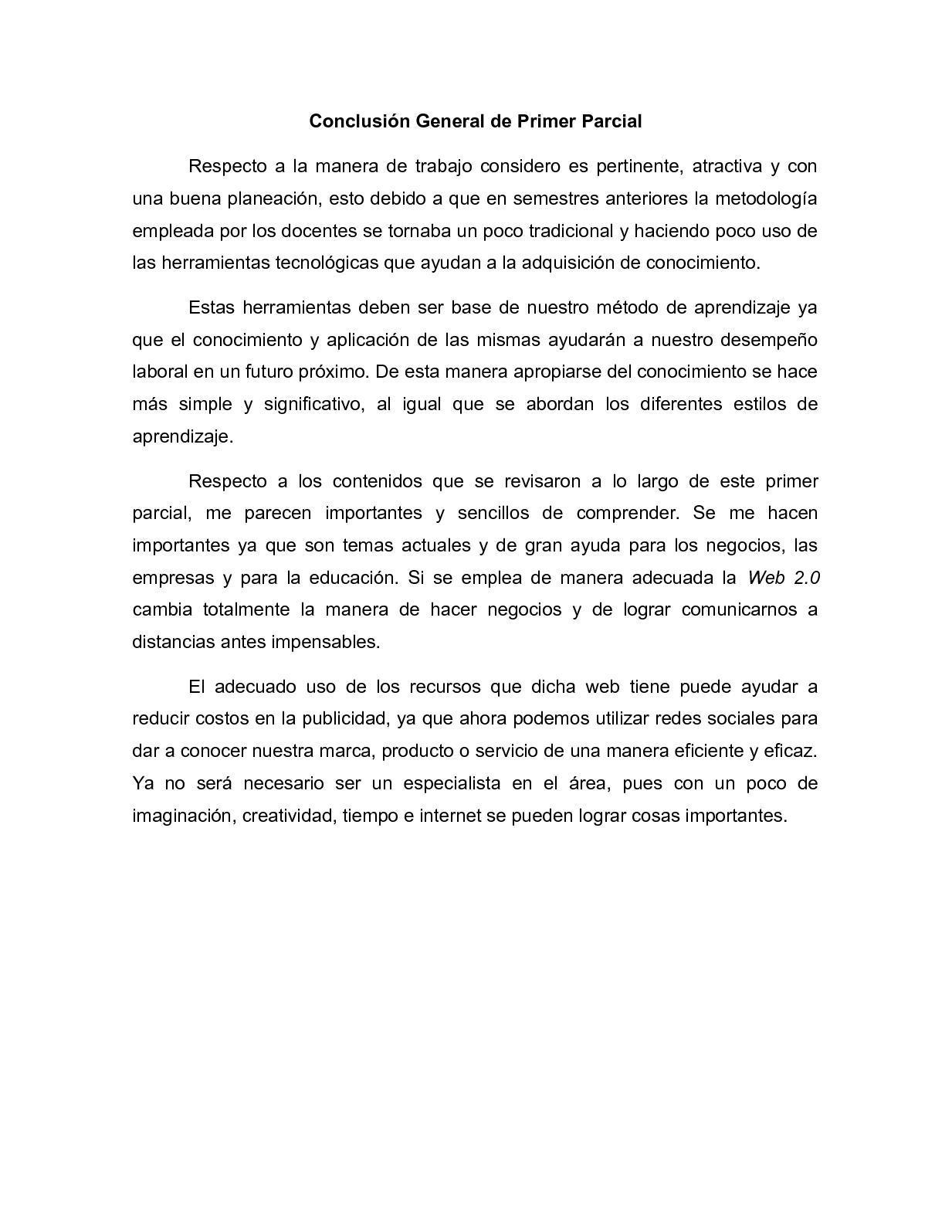 Calaméo Conclusión General De Primer Parcial Marco Garcia