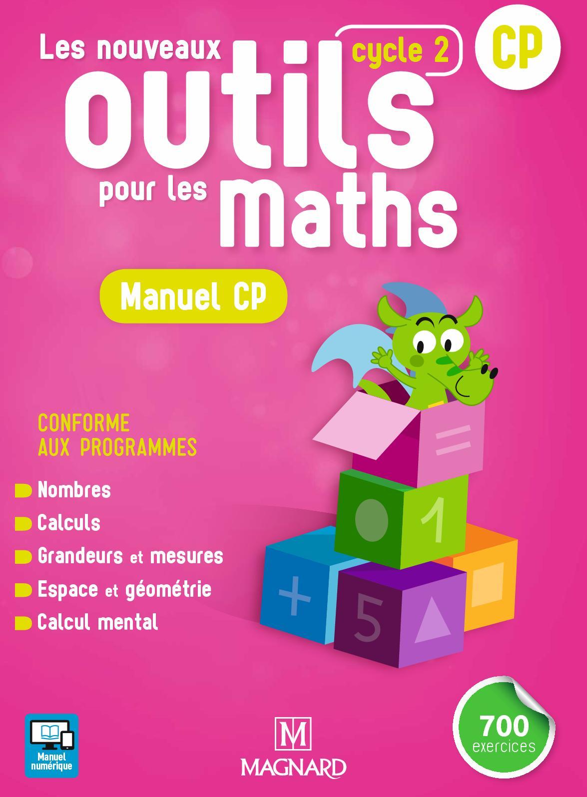 Extrait Les Nouveaux Outils pour les Maths - Manuel CP