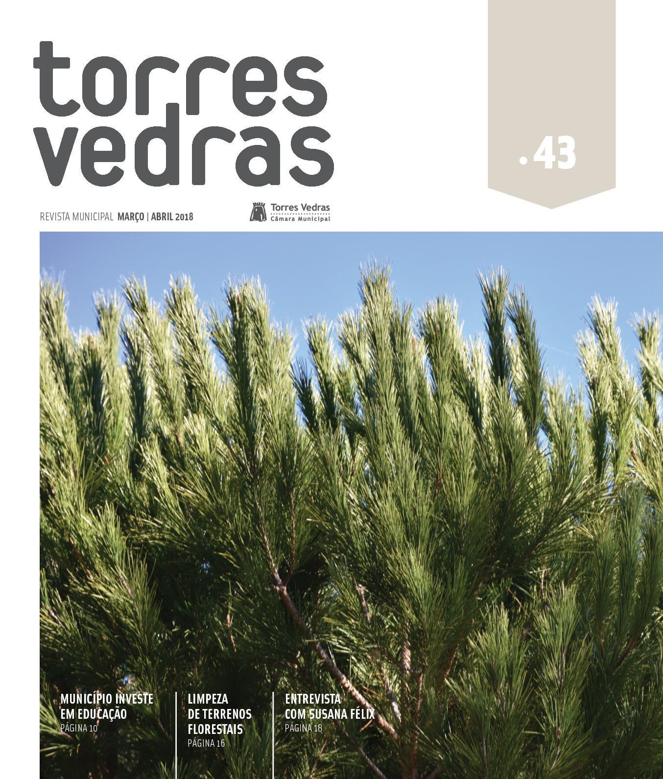 5f54202de Calaméo - Revista Municipal Torres Vedras nº43 - março abril 2018