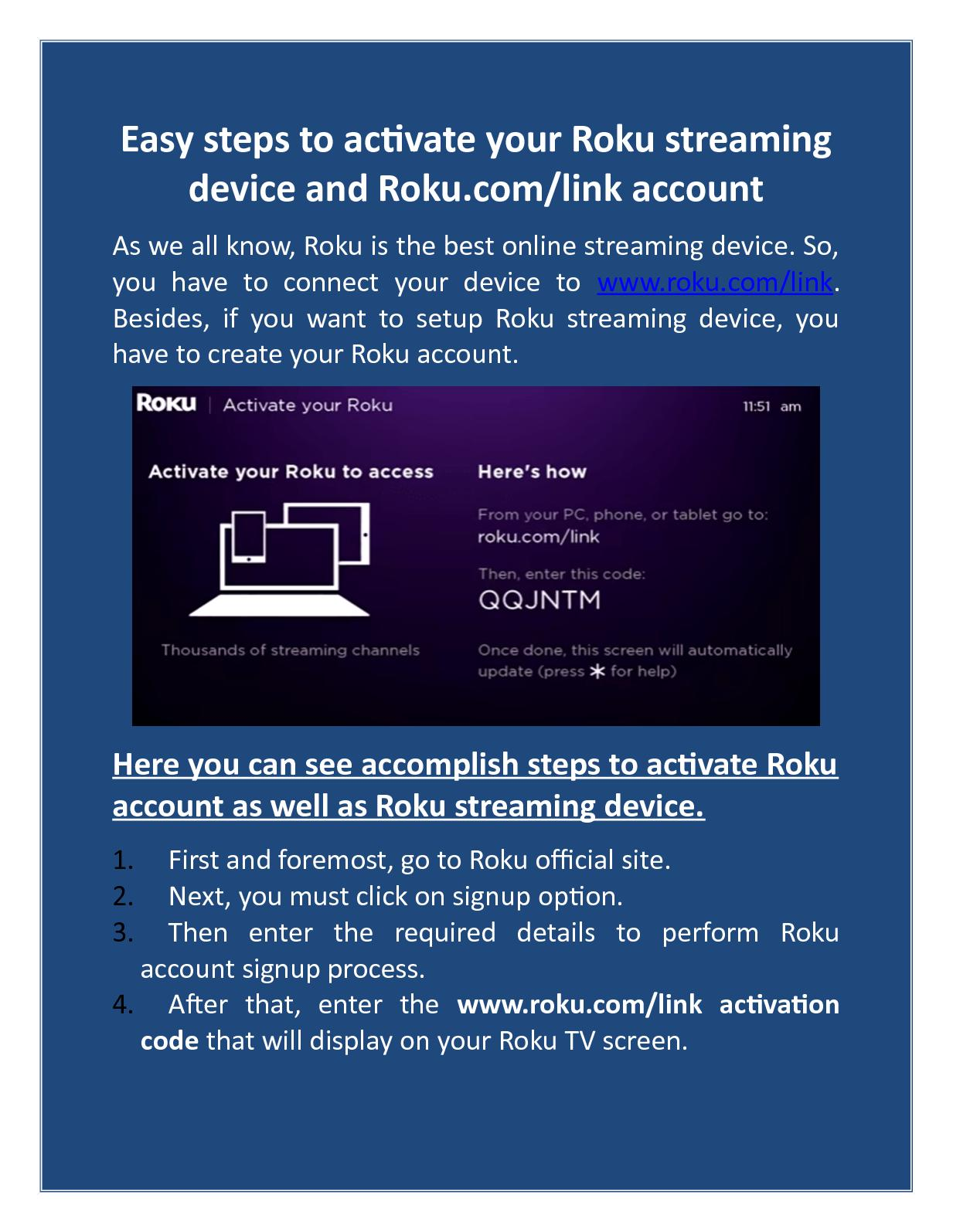 hook up roku 4