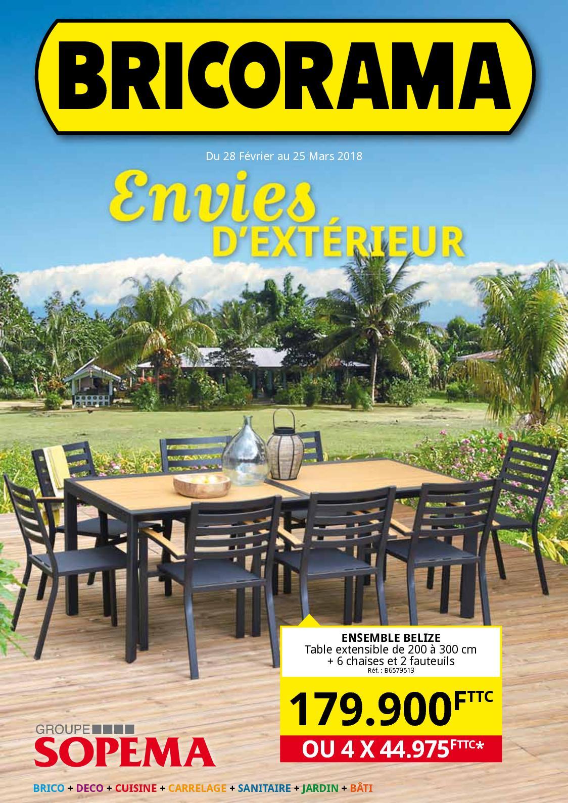 Calaméo - Catalogue Envies d\'extérieur Bricorama 2018
