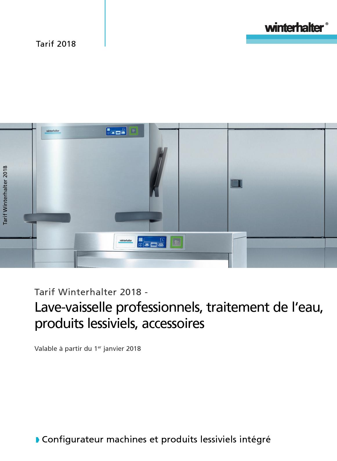 Fabriquer Socle Machine À Laver calaméo - winterhalter tarif 2018