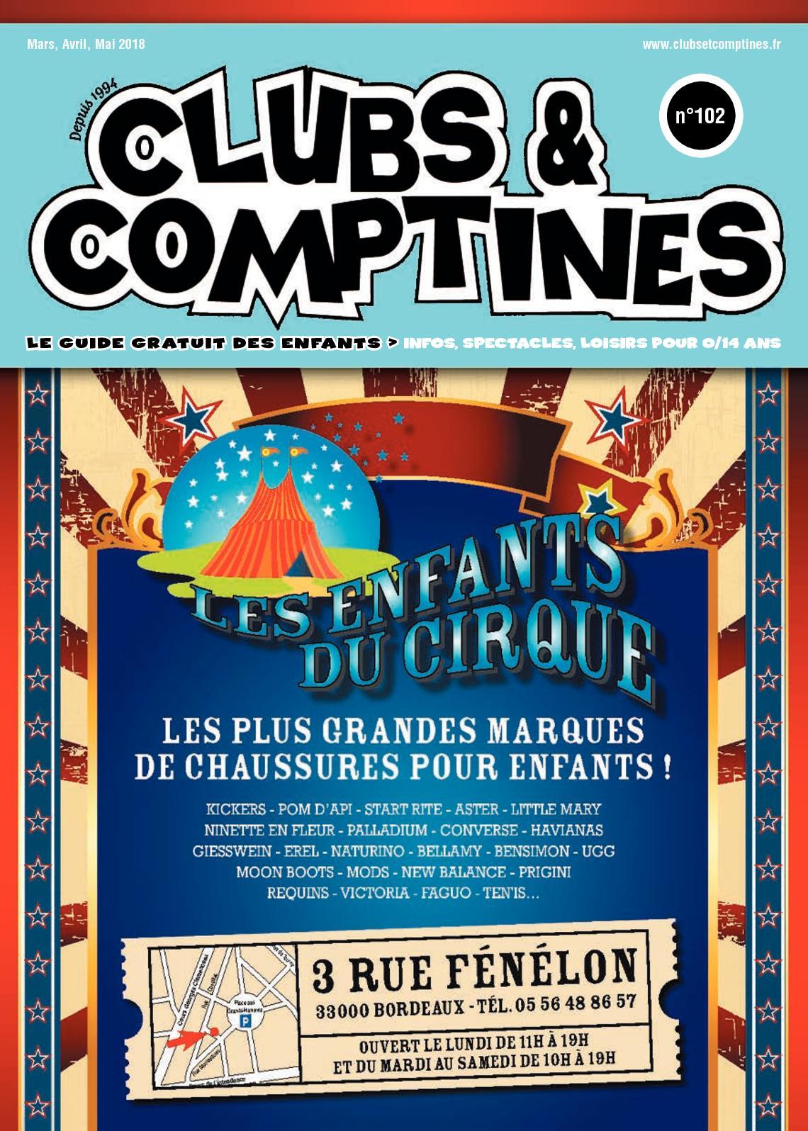 100afef2684ede Calaméo - CLUBS & COMPTINES N°102