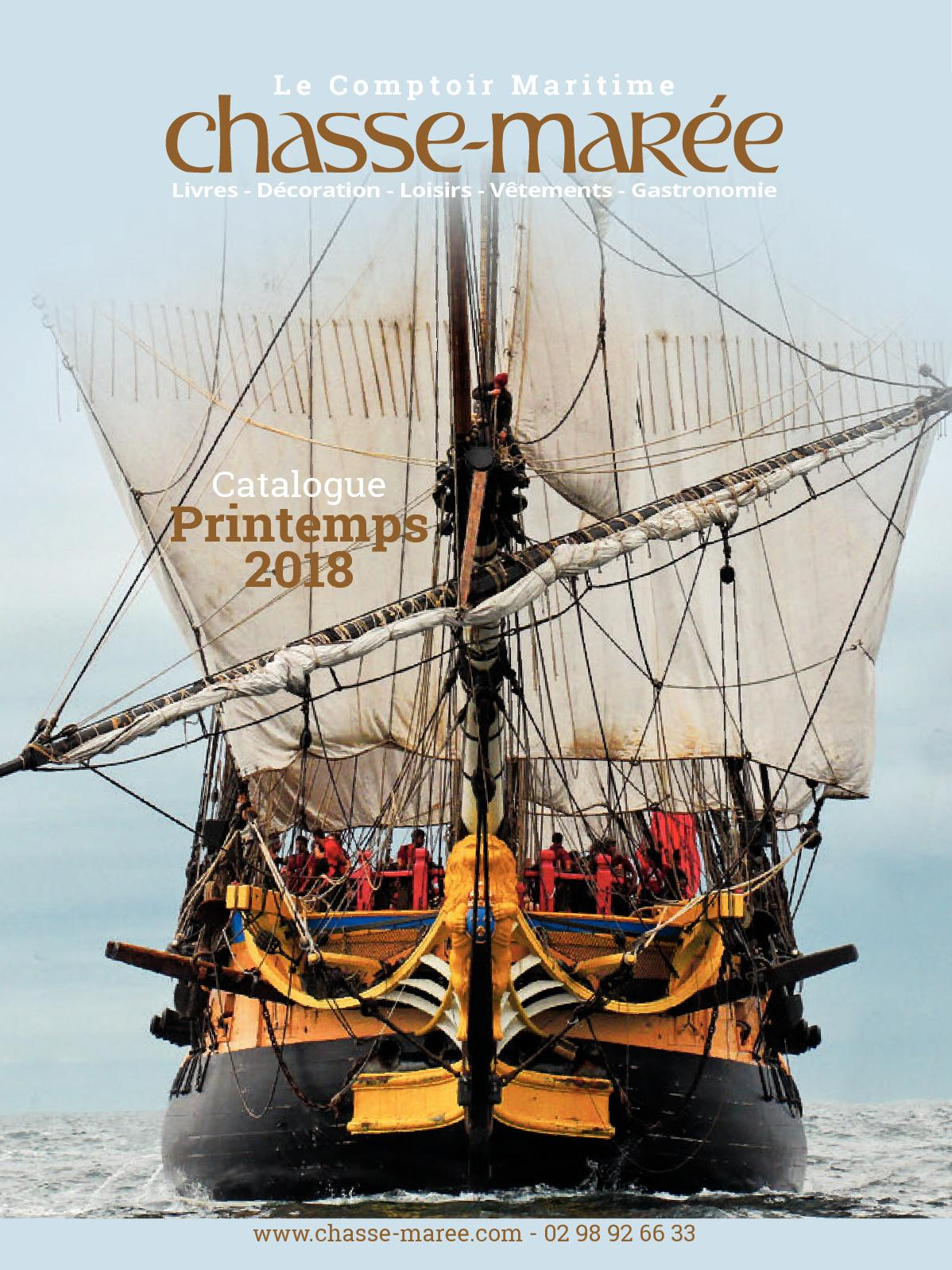 Maritime Calaméo Catalogue Chasse Marée Comptoir 2018 Printemps Du UzMGSpqV