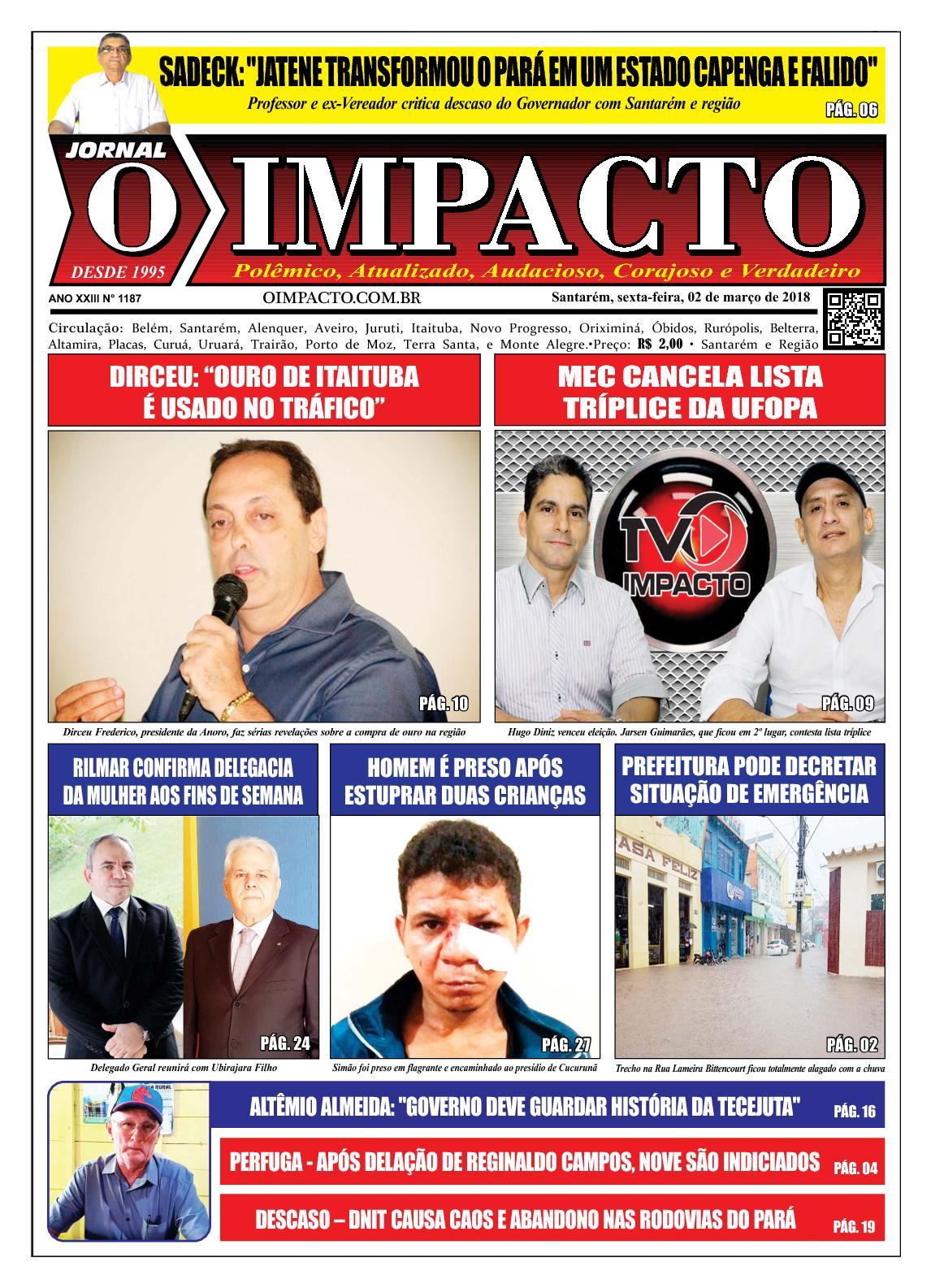 Calaméo - Jornal O Impacto Ed. 1187 3577a786a5