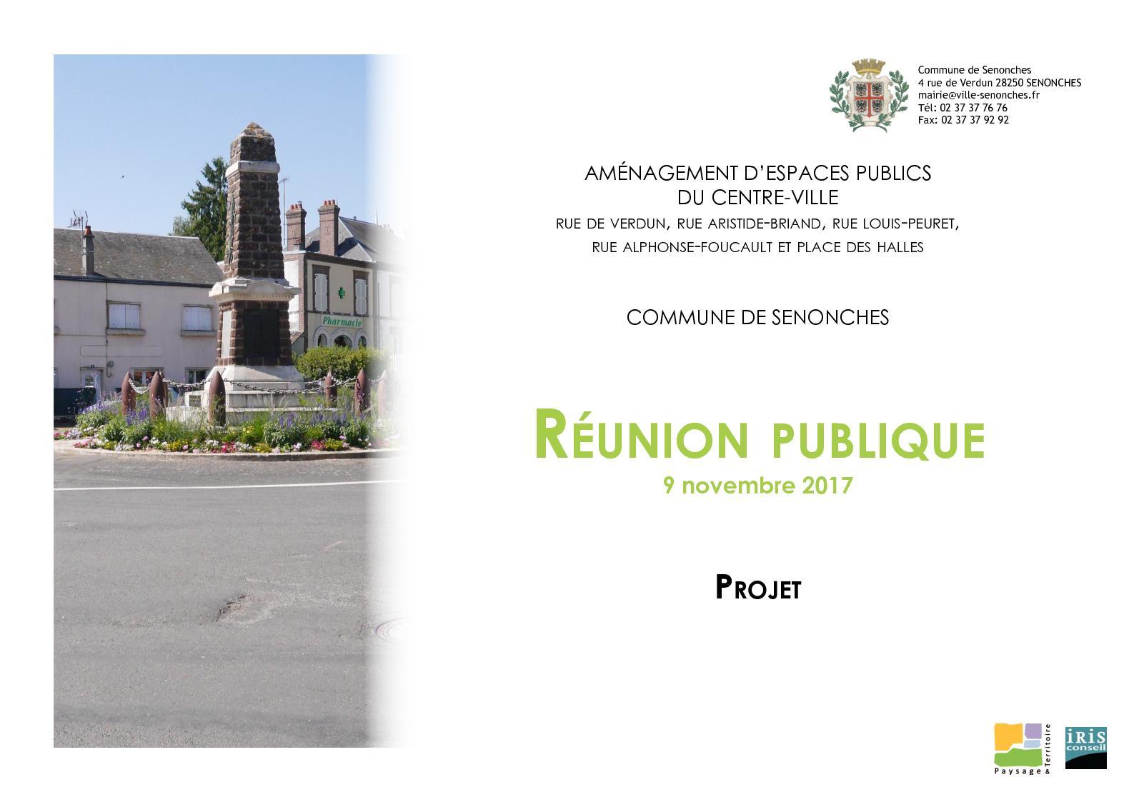 Calaméo Projet Aménagement Du Centre Bourg