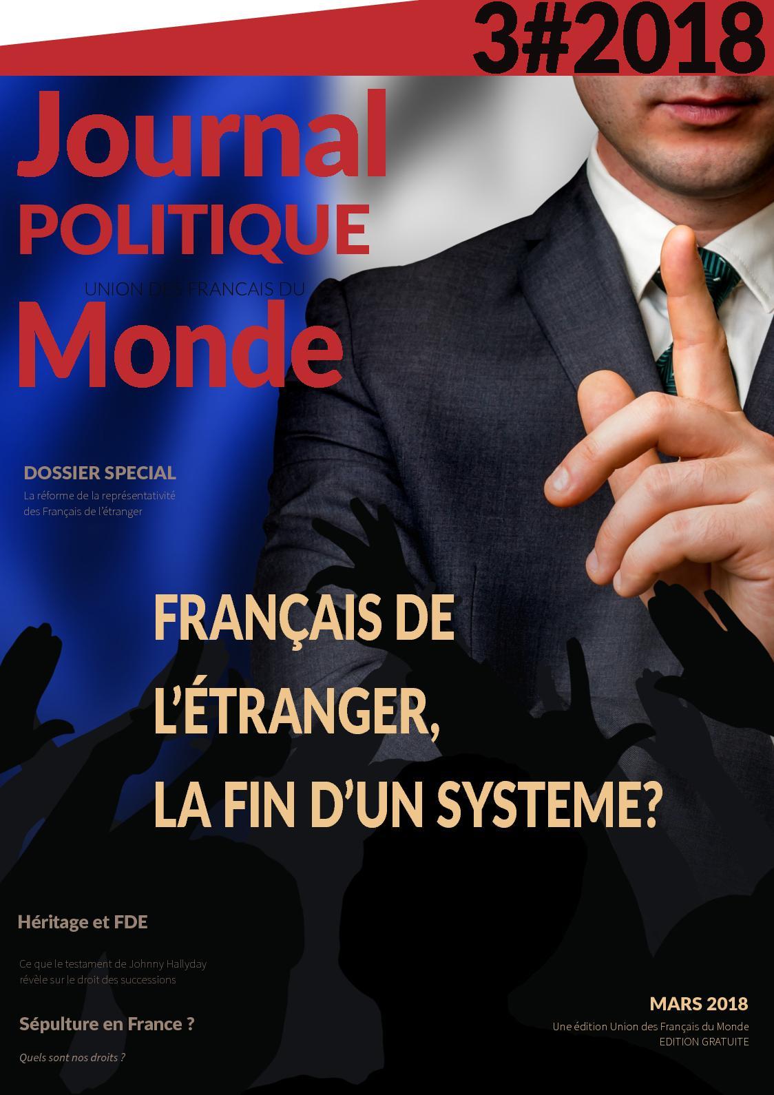 Calameo Journal Politique De L Union Des Francais Du Monde 32018