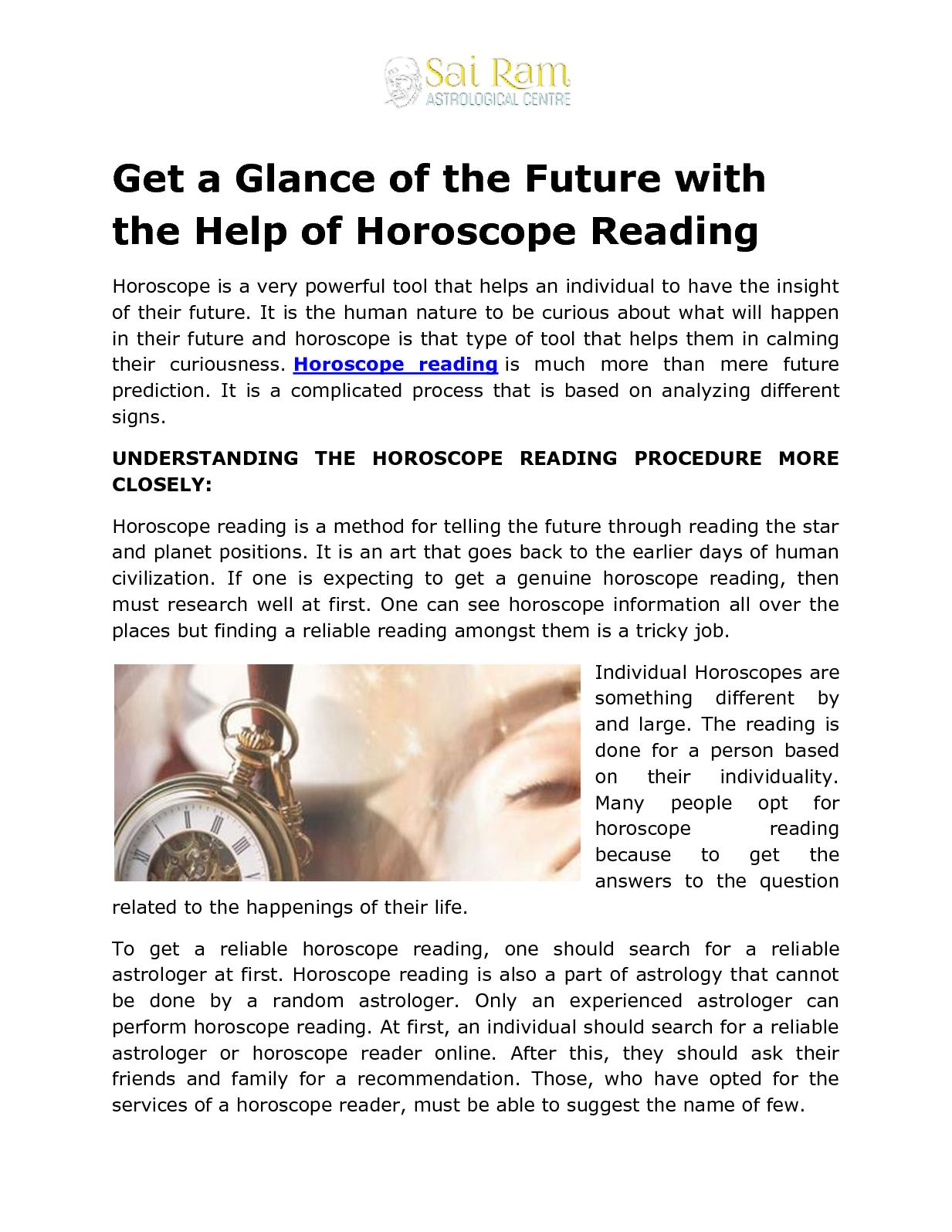 Calaméo - Get a Glance of the Future with the Help of