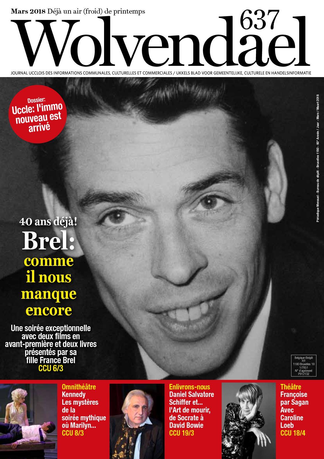 Calaméo Wolvendael Magazine N 637 Mars 2018