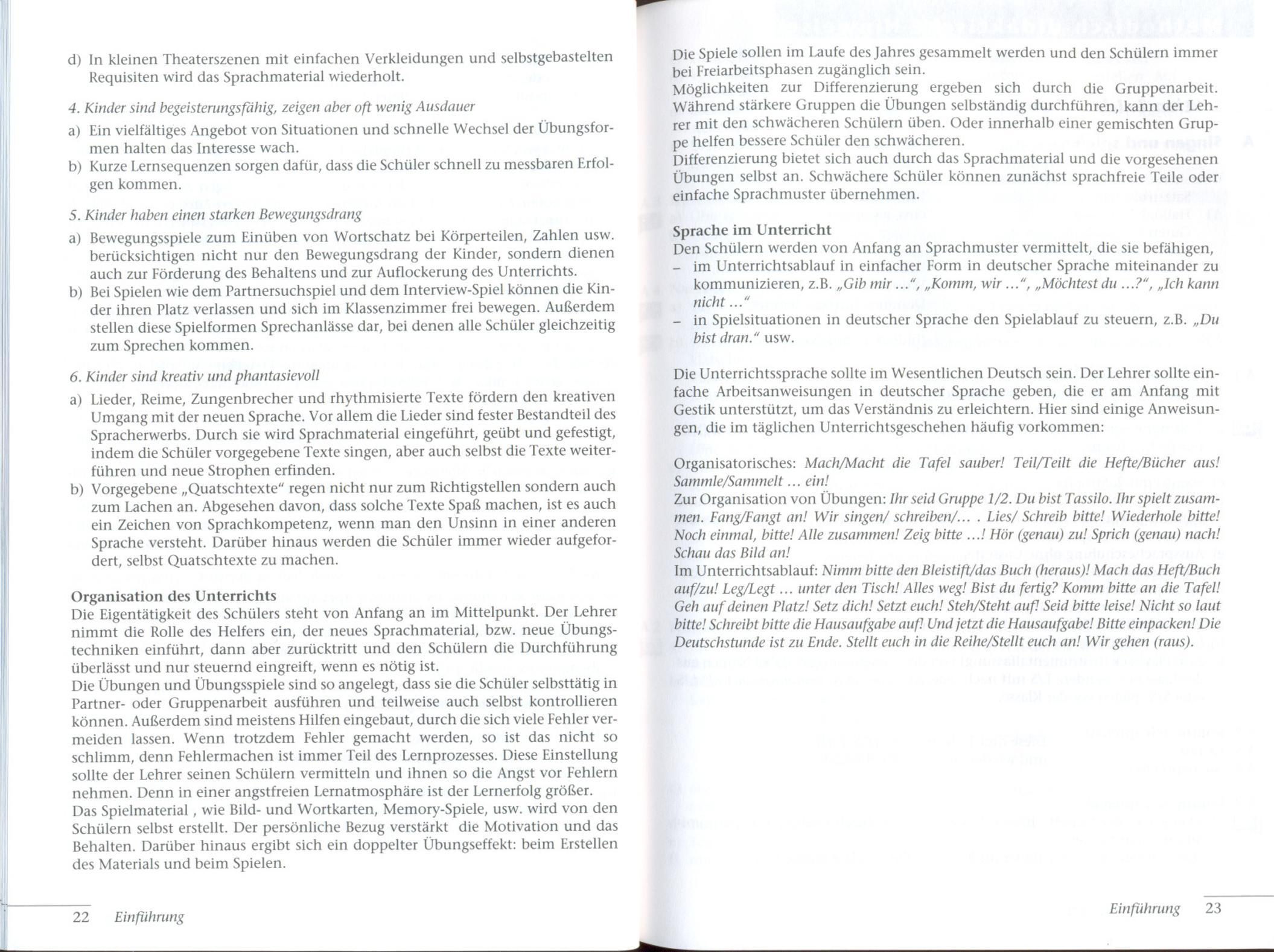 Tamburin 1 Deutsch Fuer Kinder Lehrerhandbuch Calameo
