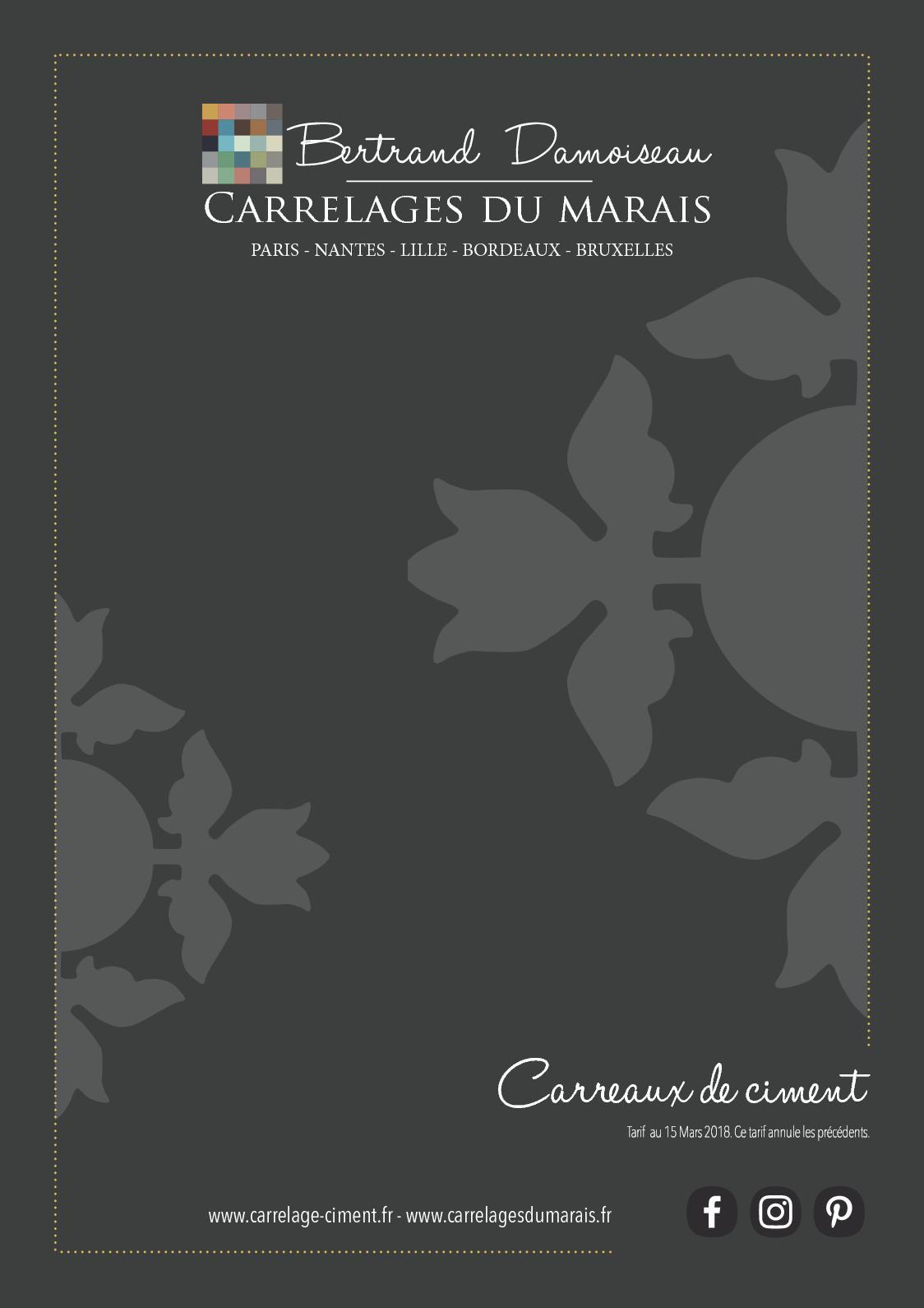 Sol Terrazzo Coulé Prix calaméo - brochure carreaux de ciment 2018