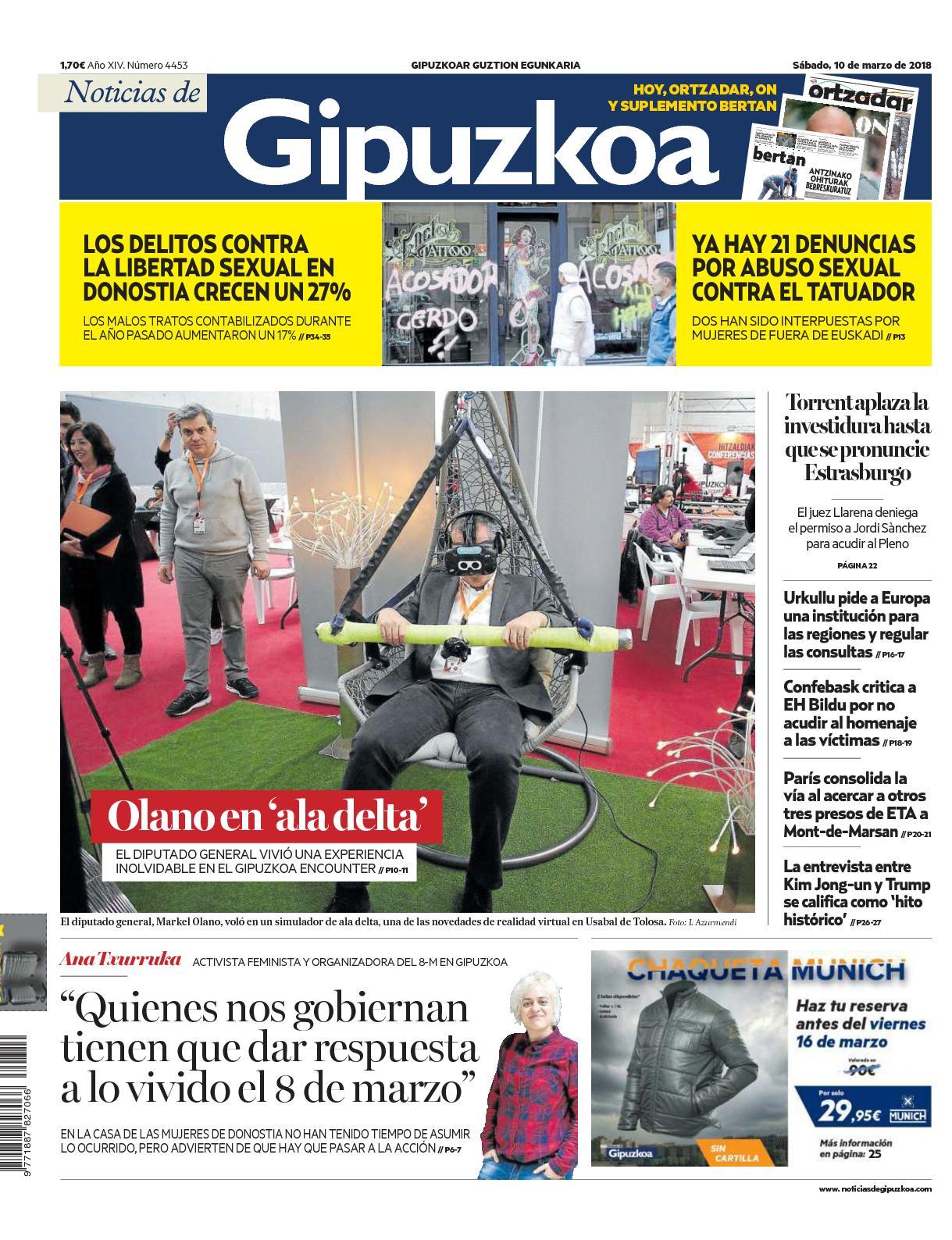 Calameo Noticias De Gipuzkoa 20180310