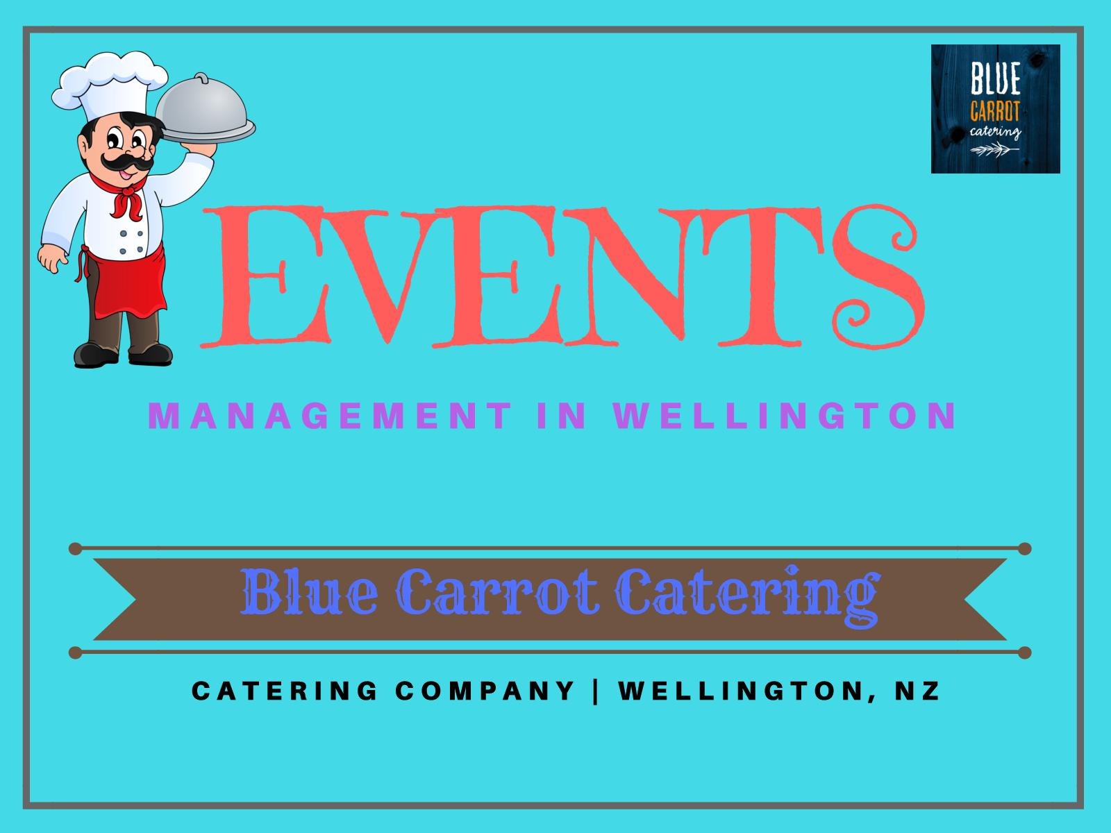 Blue carrot catering wellington