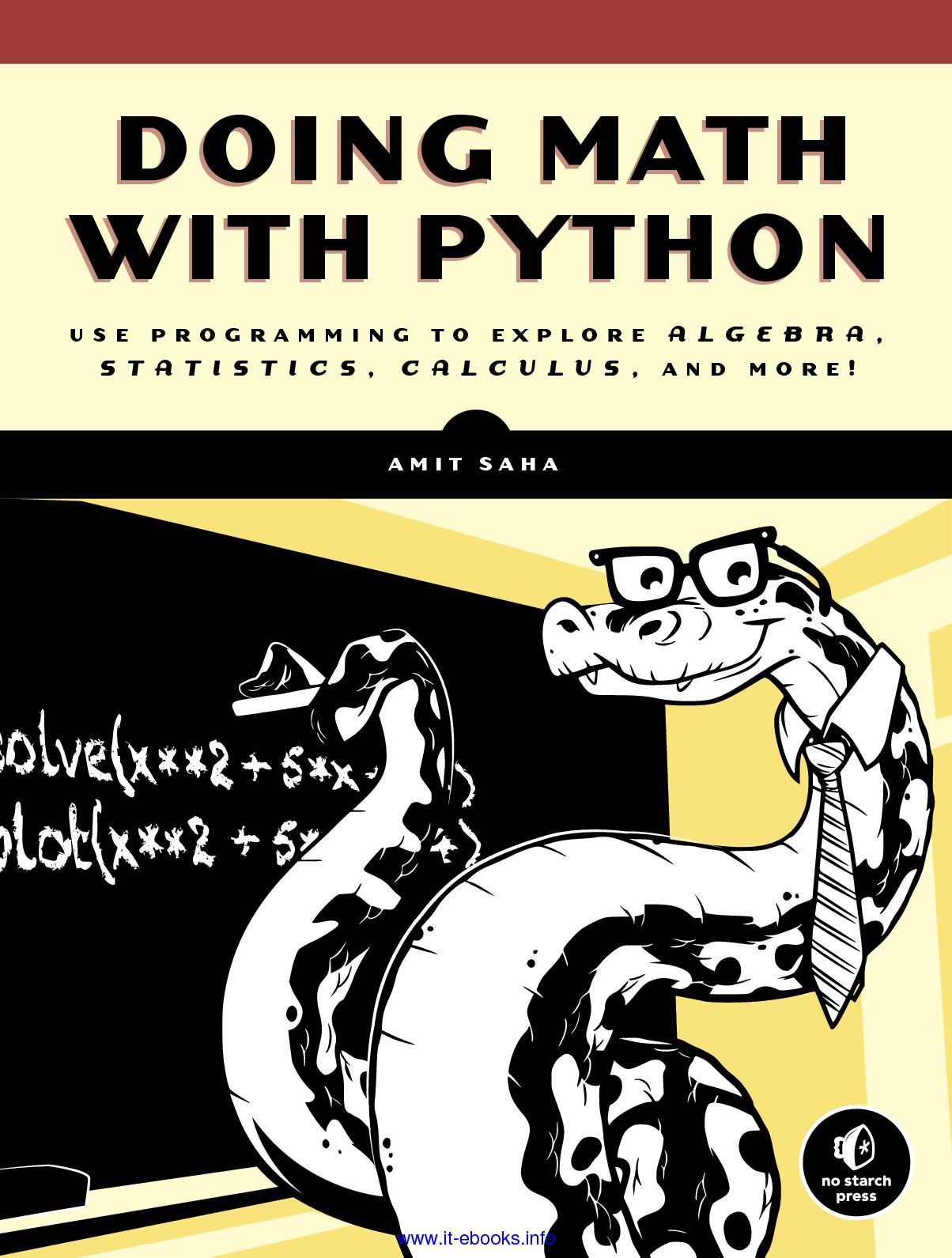 Calaméo - Doing Math With Python