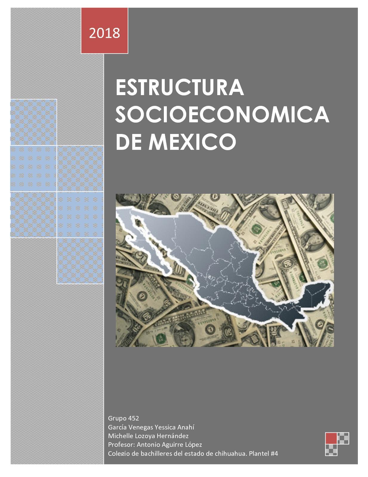 Calaméo Estructura Socioeconomica De Mexico