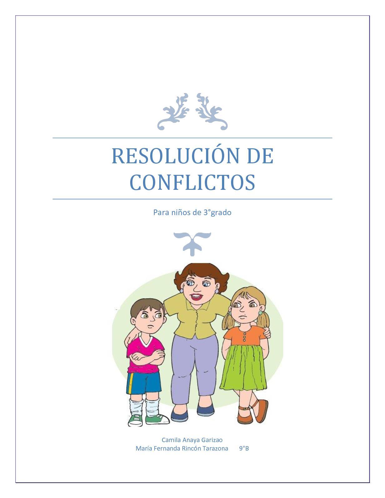 Calaméo Plan Clase Resolución De Conflictos