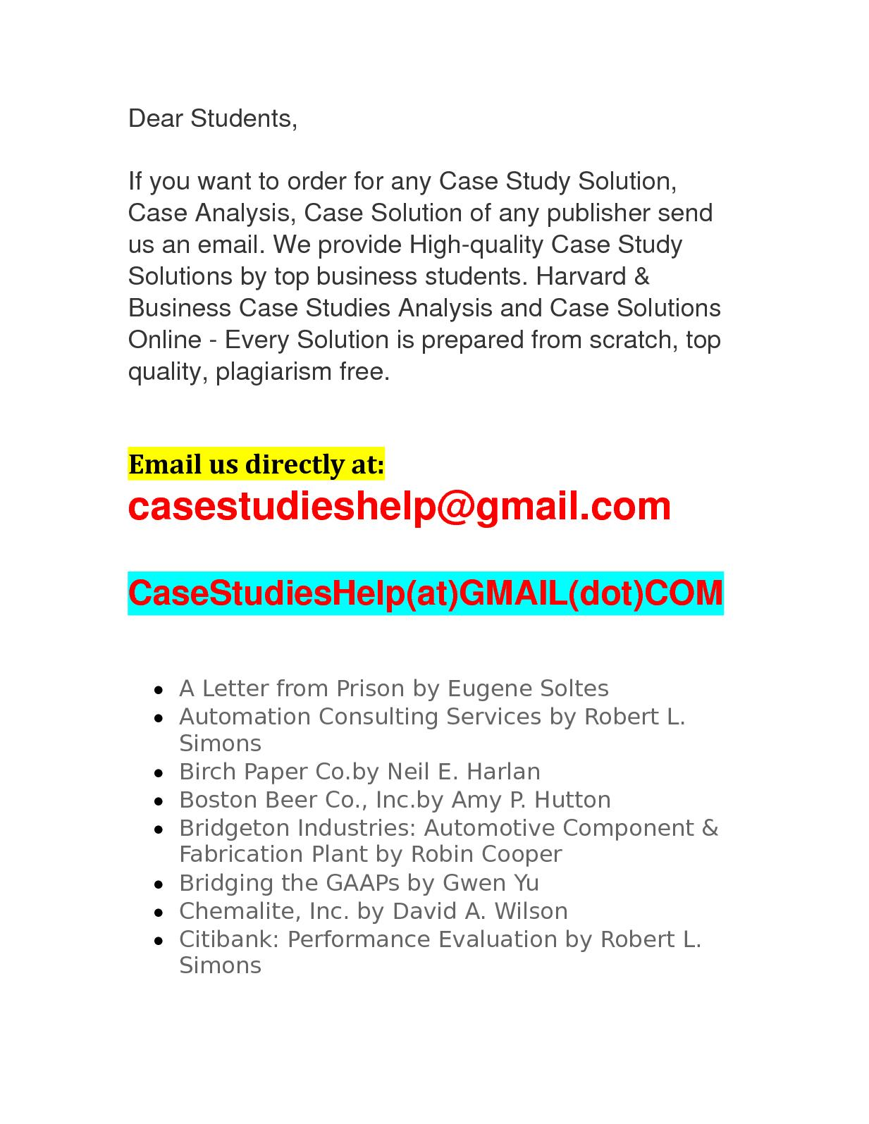 ufida case study