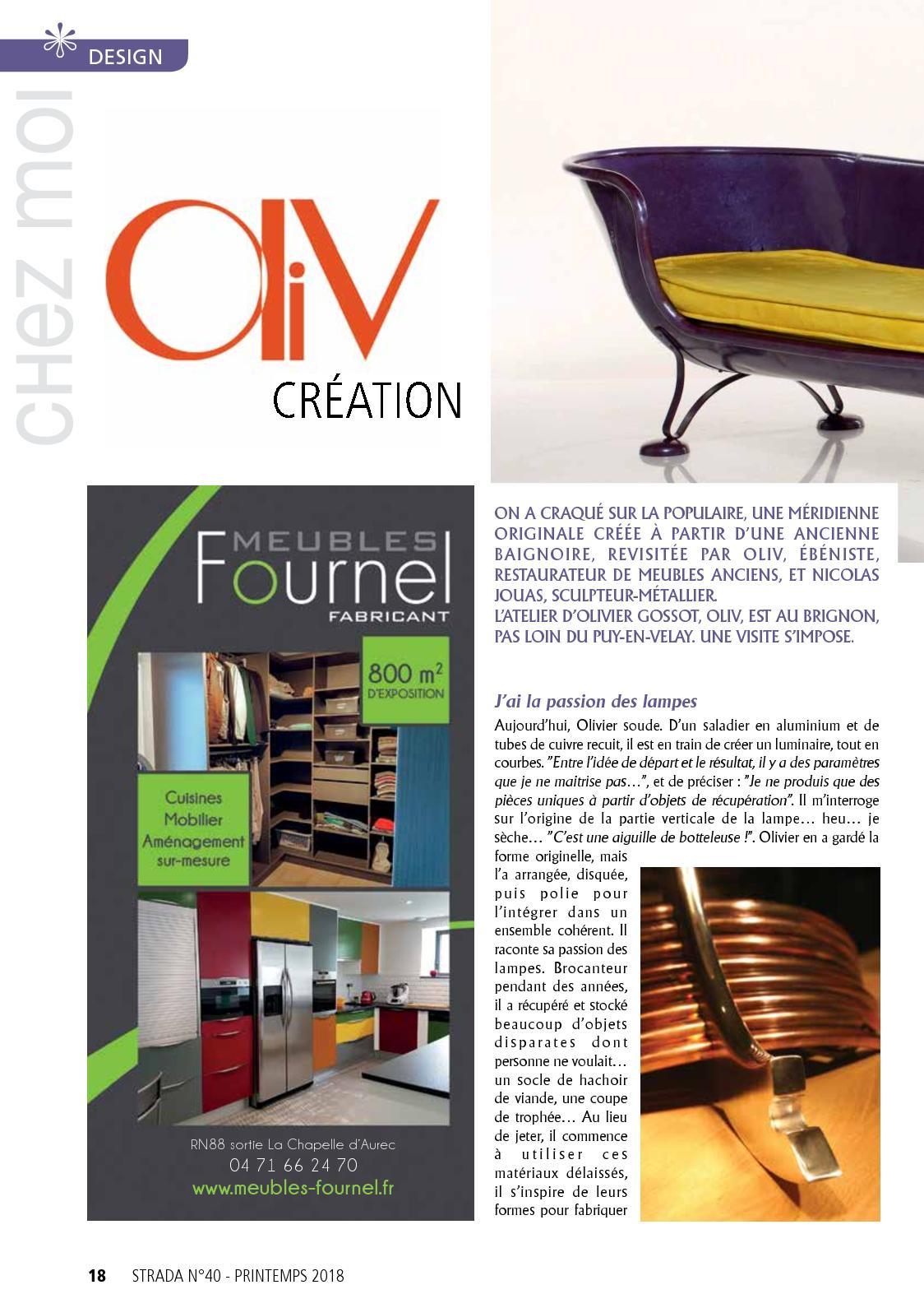 Design Creation Le Puy En Velay strada la vie d'ici n°40 printemps 2018 - calameo downloader