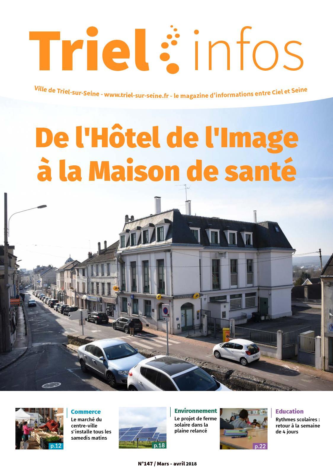 Triel Sur Seine Fr calaméo - triel infos 147 mars avril 2018