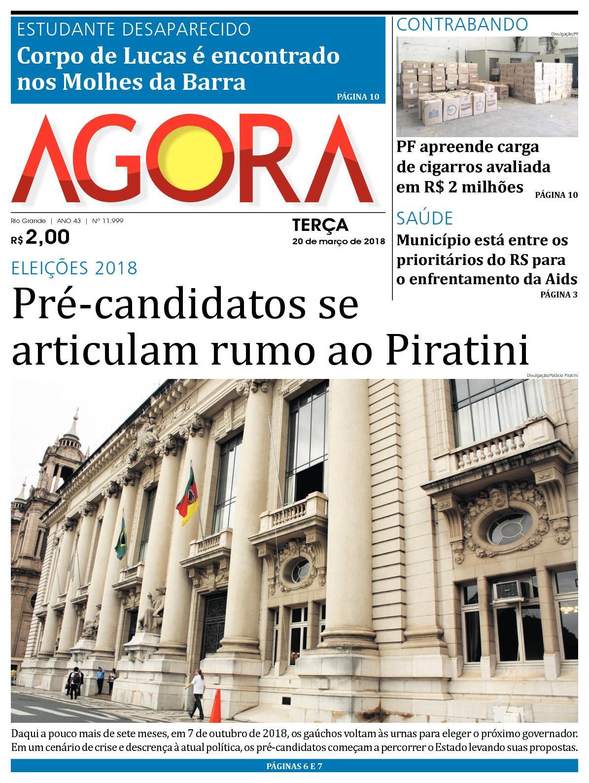 Calaméo - Jornal Agora - Edição 11999 - 20 de Março de 2018 2738f11010