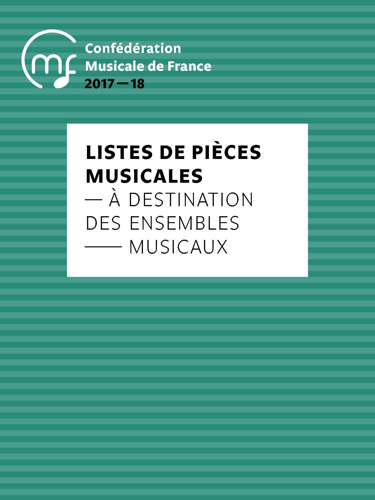 Calaméo Listes Ensembles Musicaux