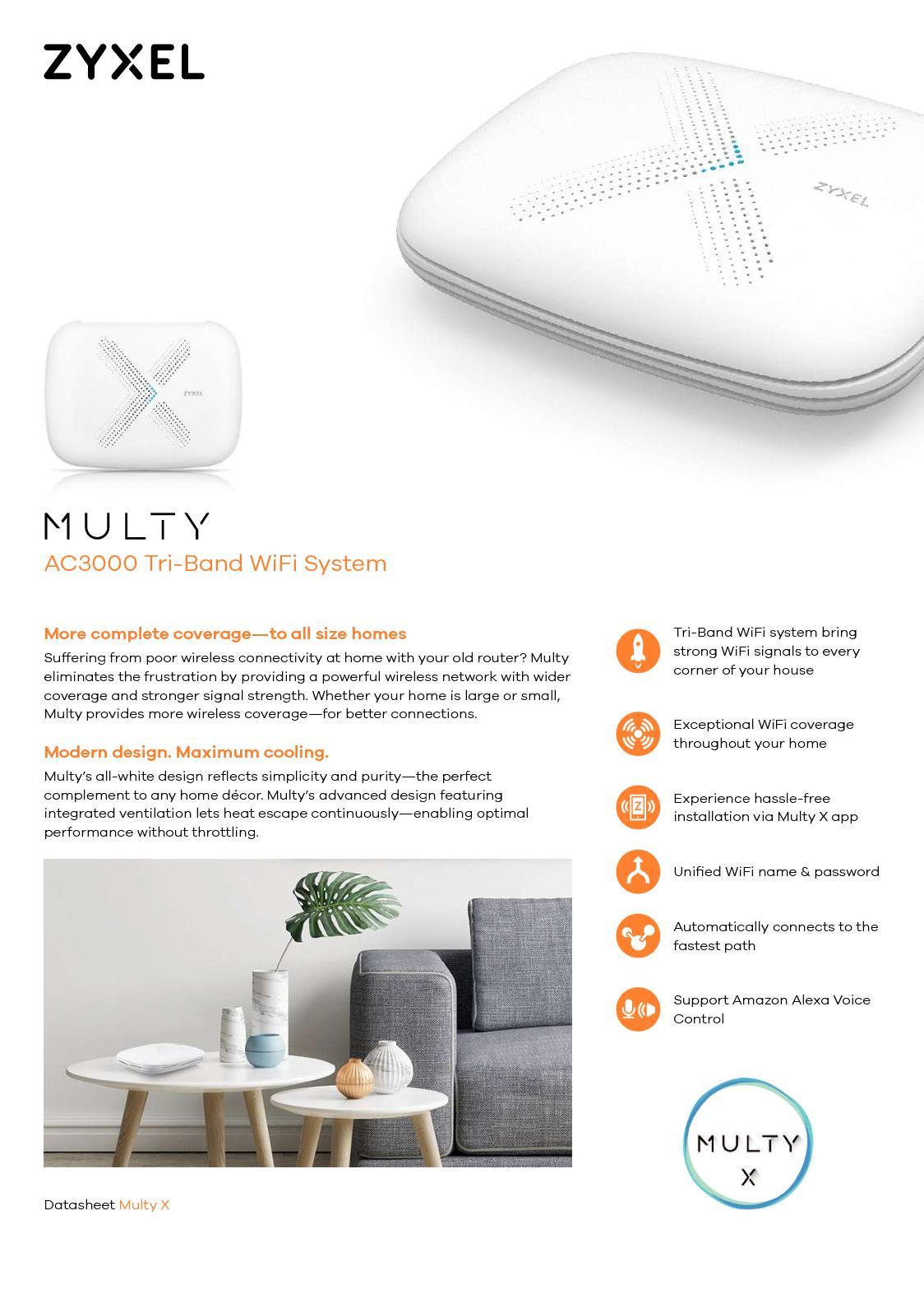 Calaméo - Multy X AC3000 Sistema WiFi Tri-Banda