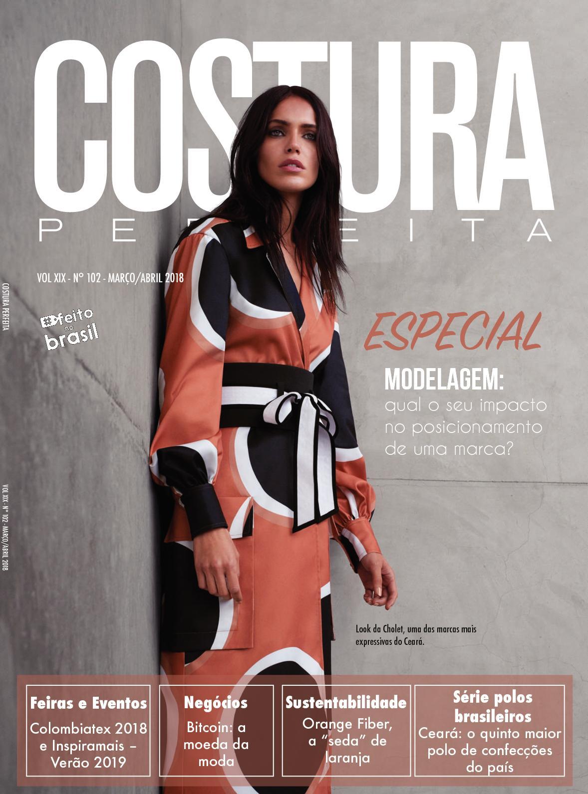 Calaméo - Revista Costura Perfeita Edição Ano XIX - N102 - Março - Abril  2018 a5c00509b94