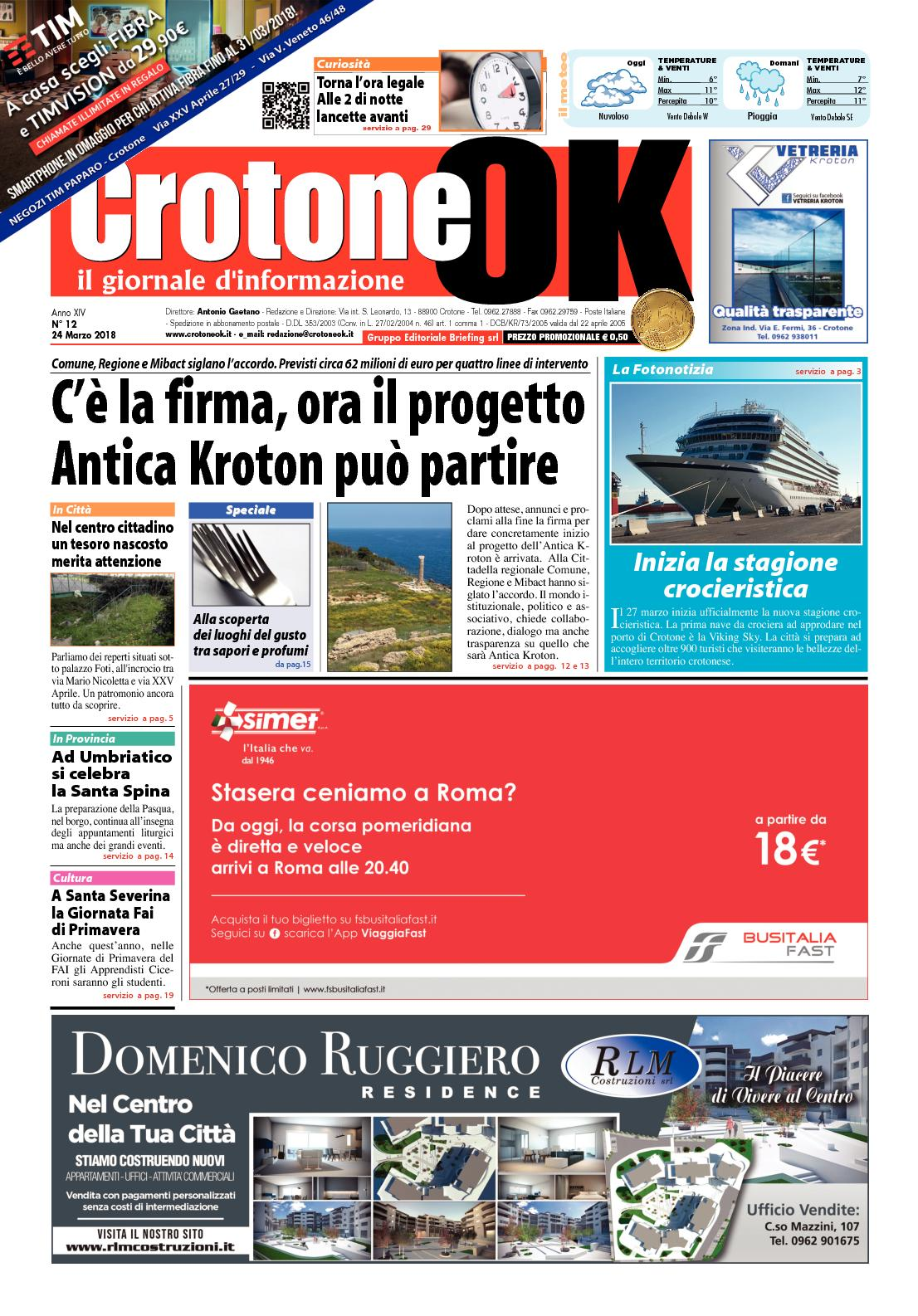 a1026f31761f Calaméo - Giornale CrotoneOk N° 12   2018