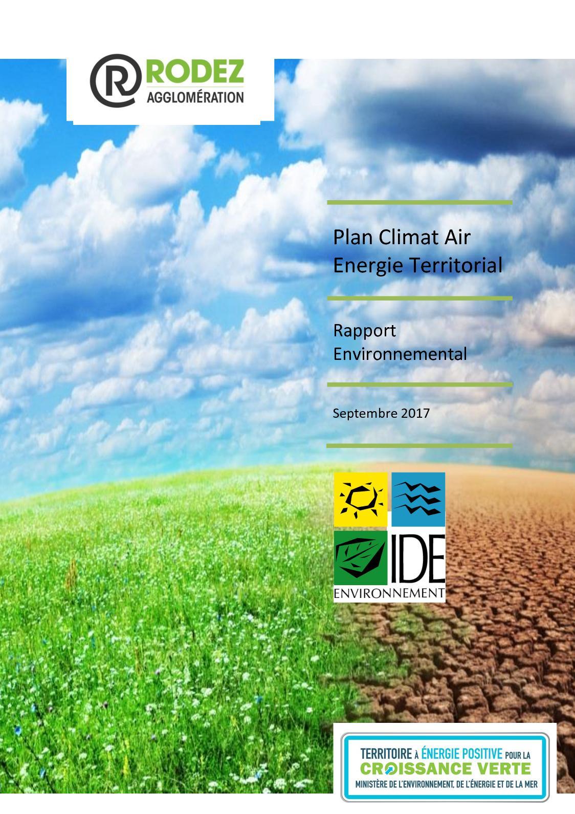 Calaméo - Plan climat air énergie territorial : rapport