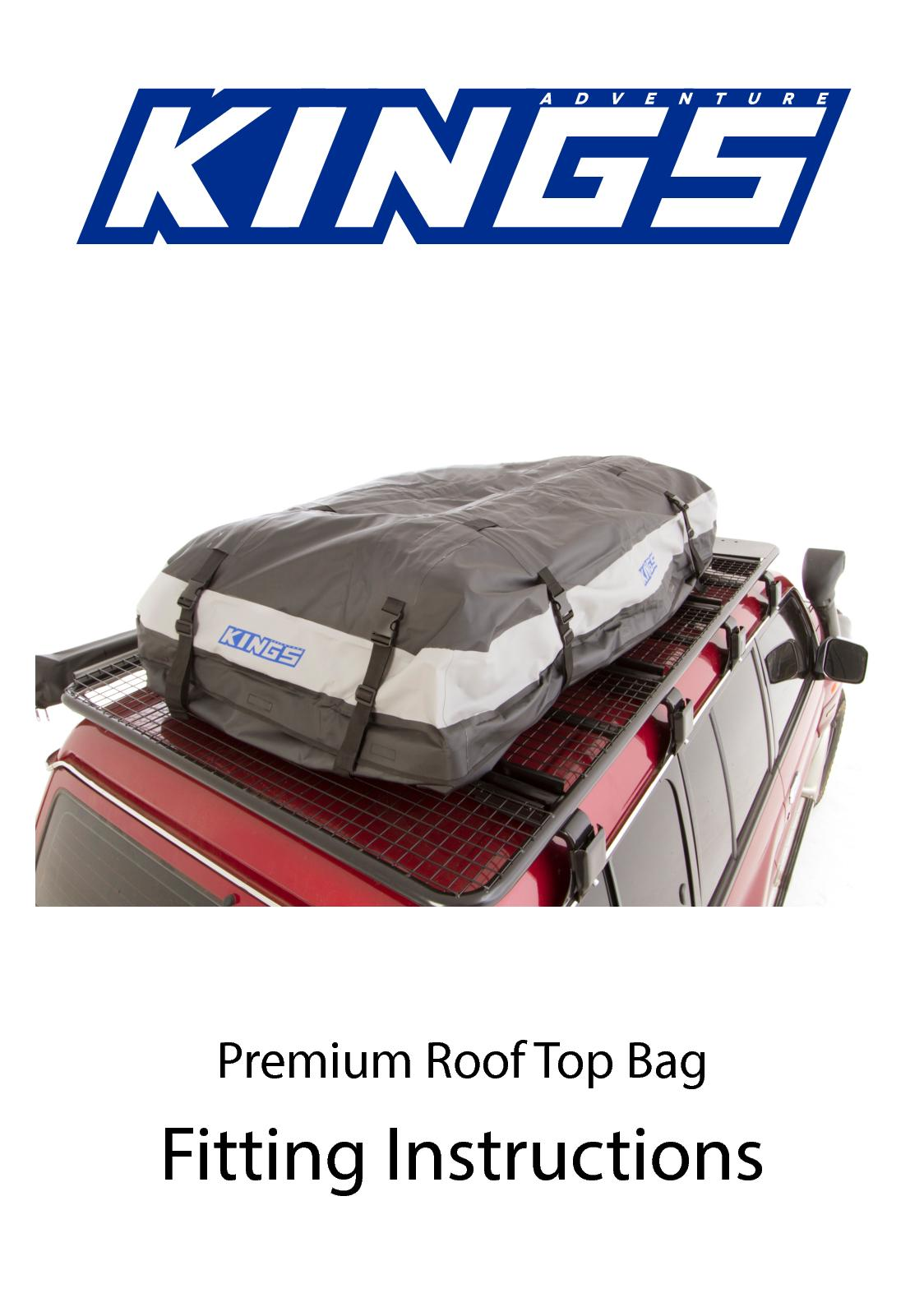 4Wd Supacentre Roof Rack Installation calaméo - premium roof top bag manual 170710