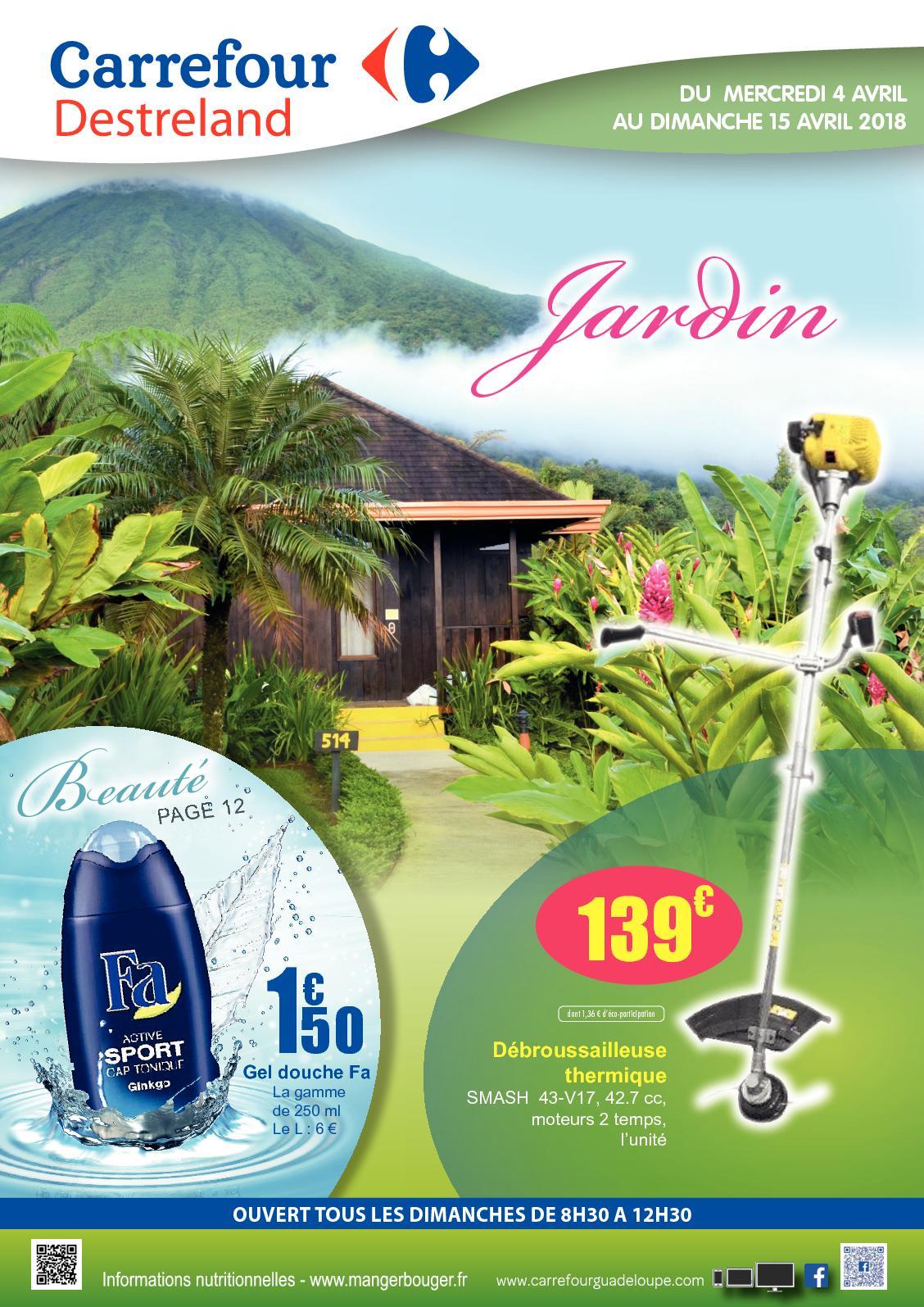Calaméo - Carrefour Destreland Jardin 2018