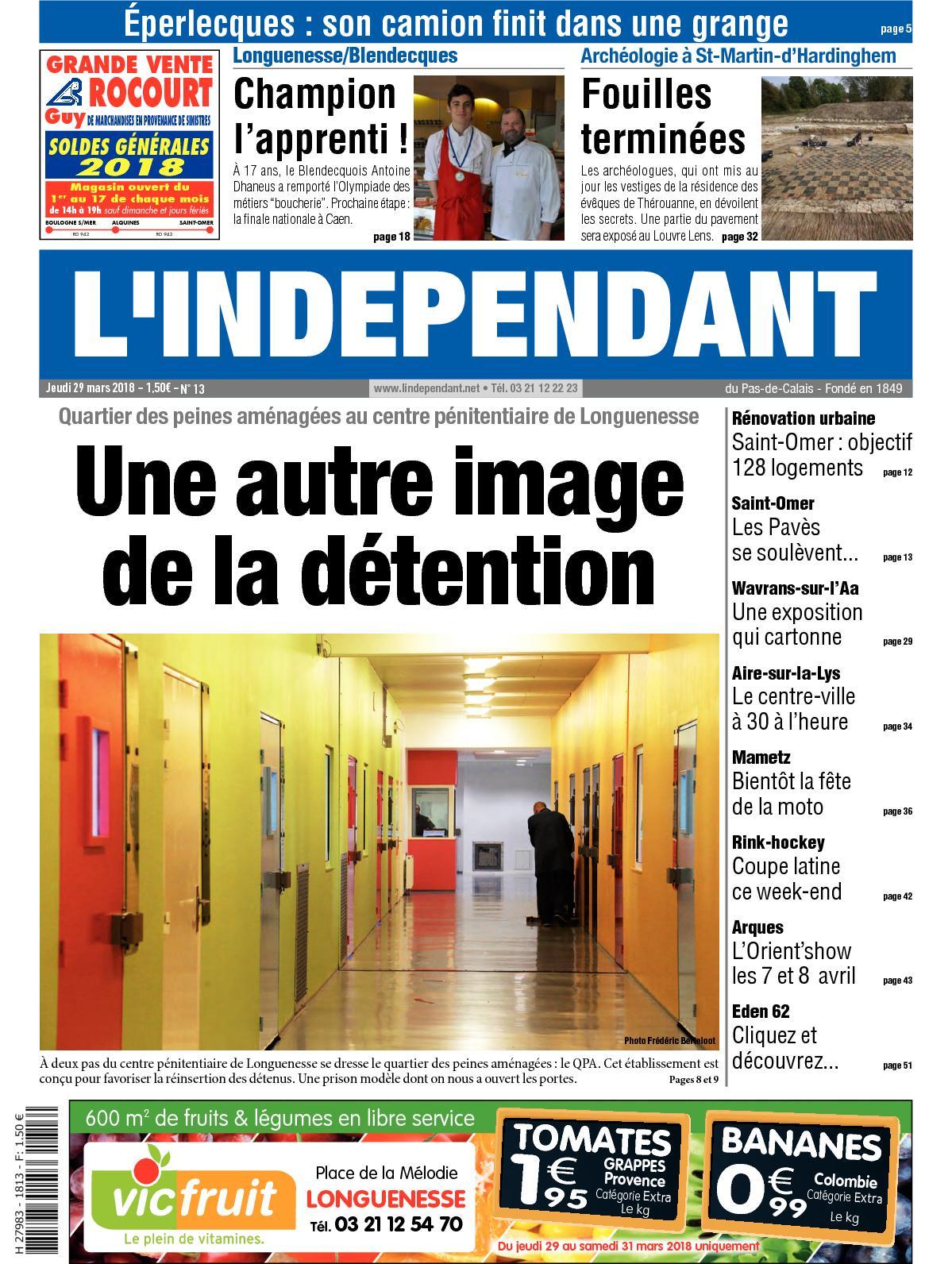 b683d1cbfbf4 Calaméo - L indépendant Semaine 13 2018
