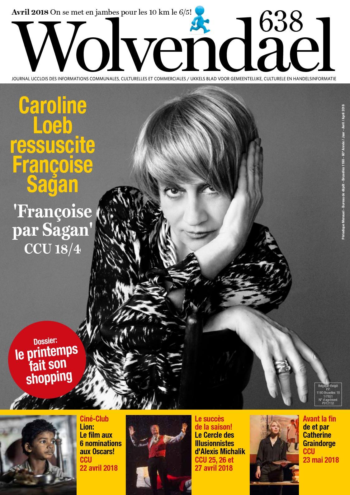 Calaméo - Wolvendael magazine n° 638 avril 2018 7cf9ccde178