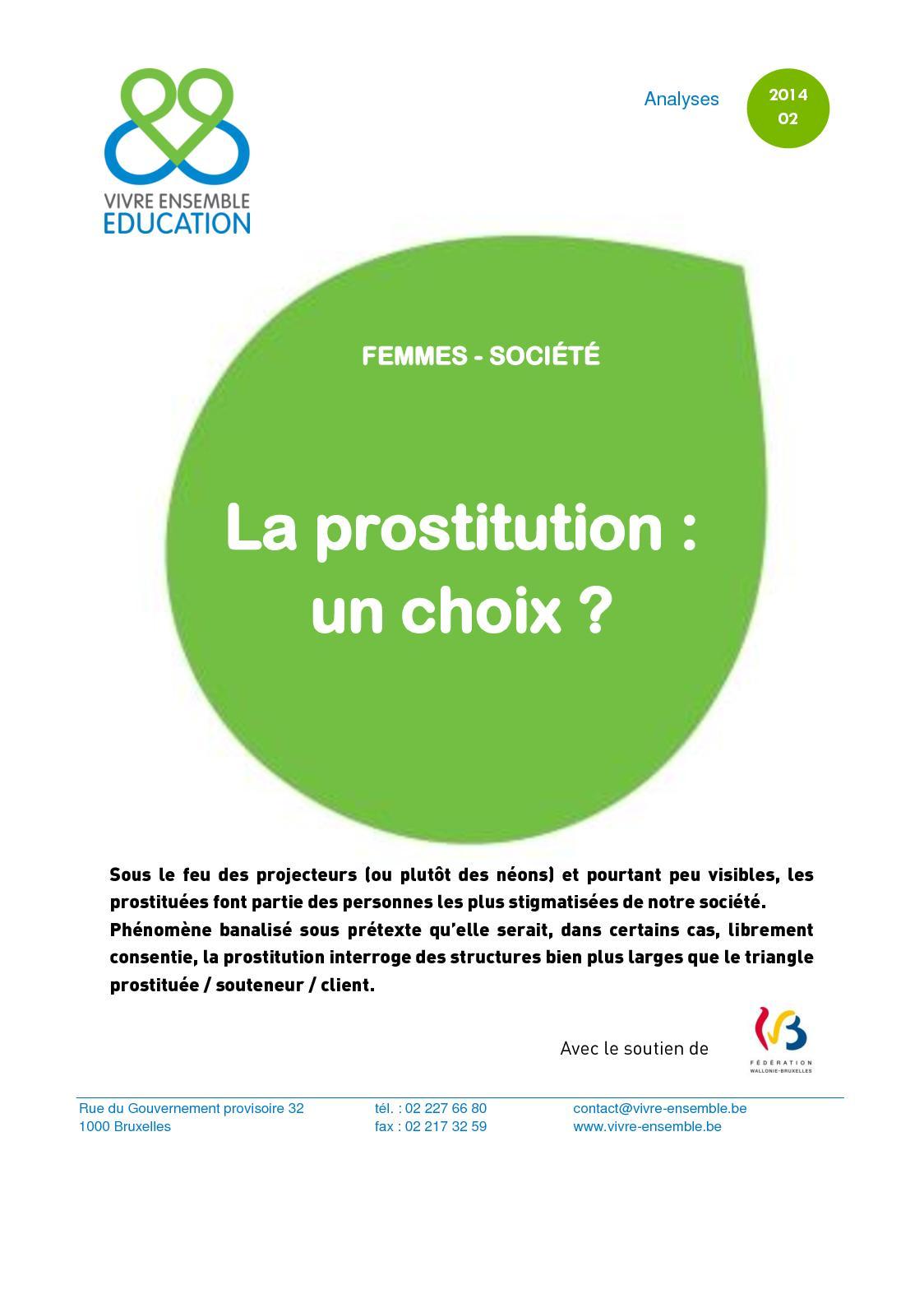 prestation des prostituées