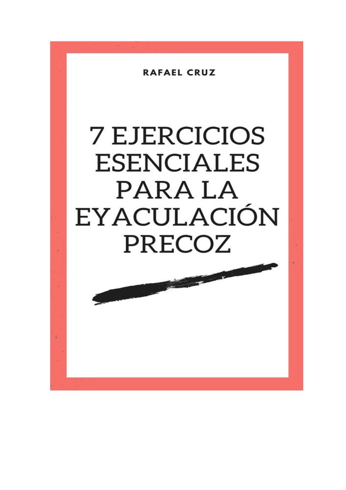 Calaméo 7 Ejercicios Esenciales Para La Eyaculación Precoz