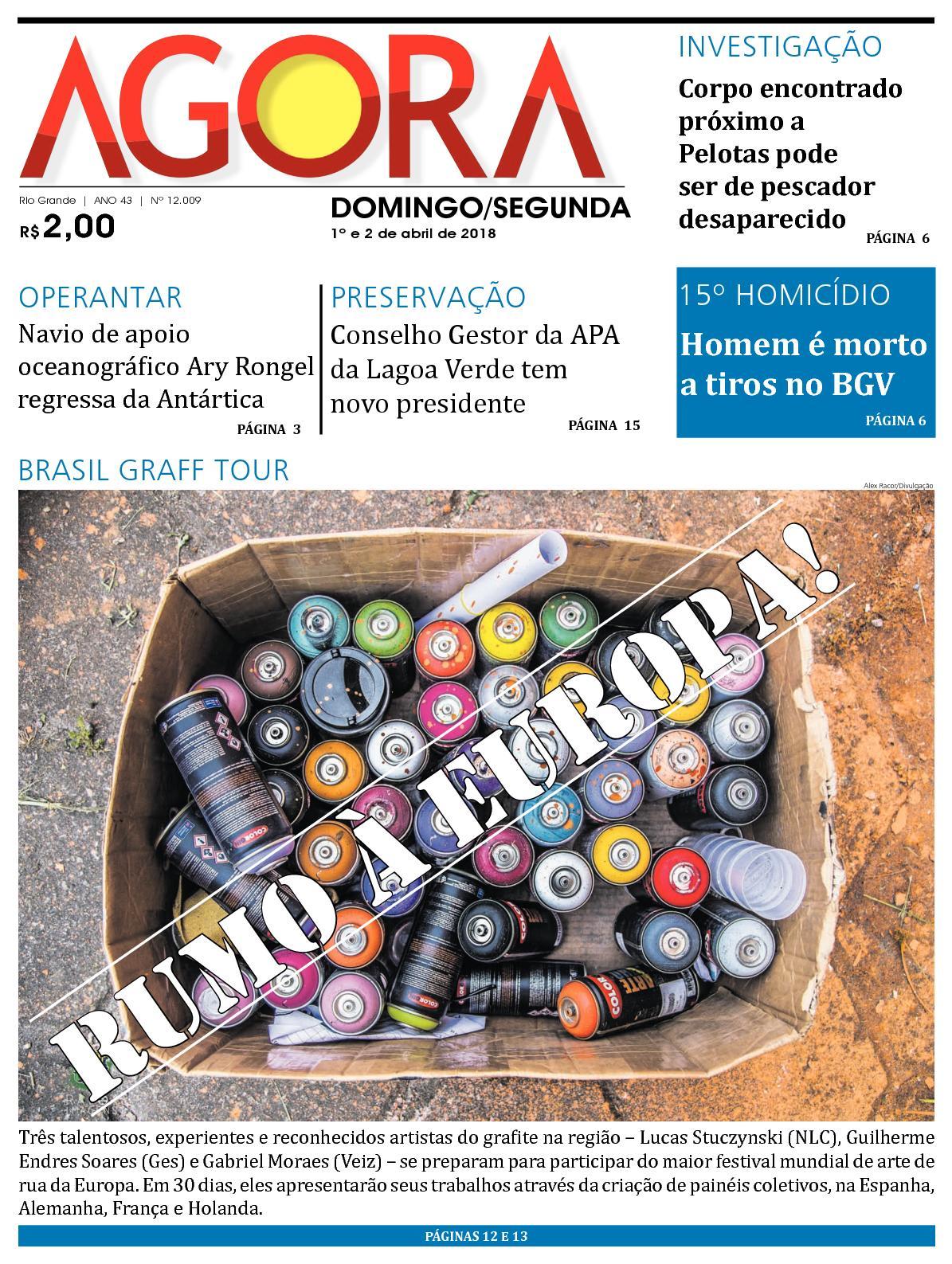8dd5c72371 Calaméo - Jornal Agora - Edição 12009 - 1º e 2 de Abril de 2018