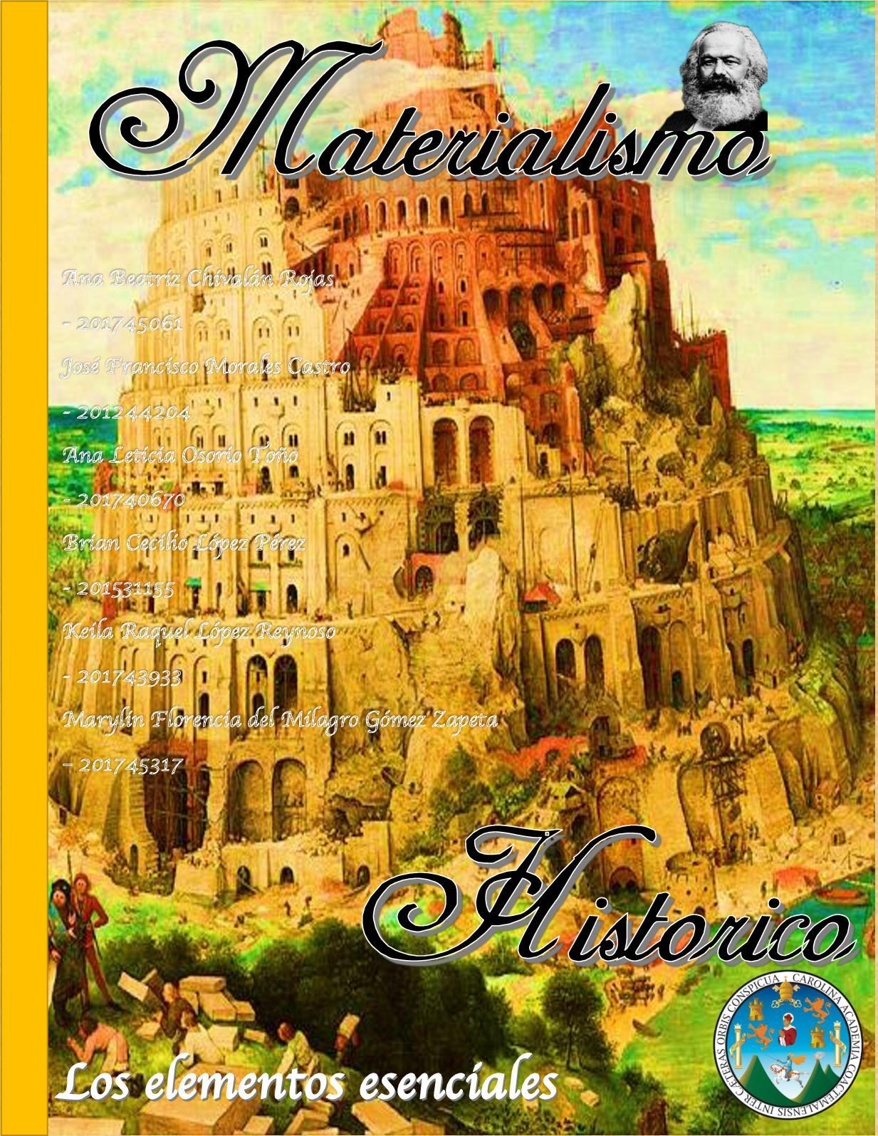 Calaméo Materialismo Historico