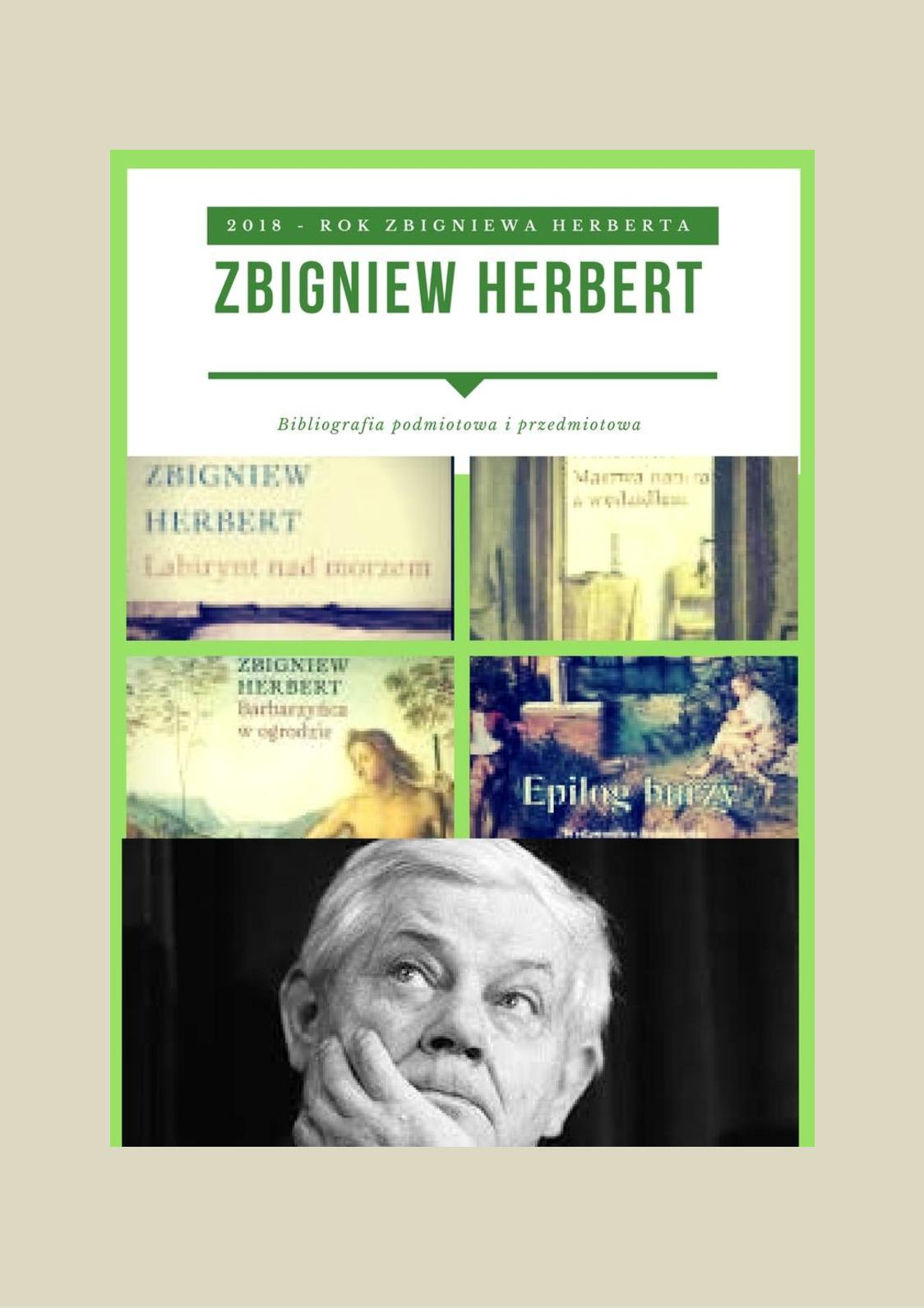 Calaméo Zbigniew Herbert Rok Zbigniewa Herberta