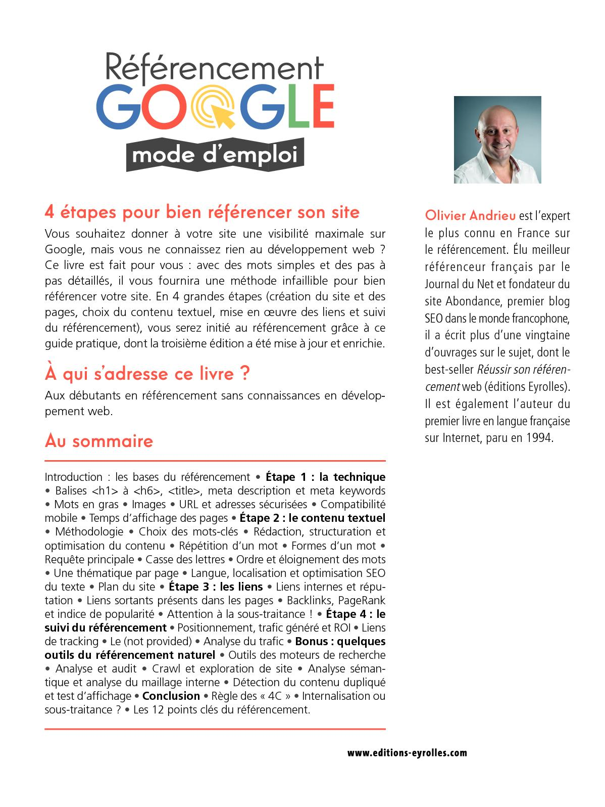 Extrait Referencement Google Mode D Emploi Calameo
