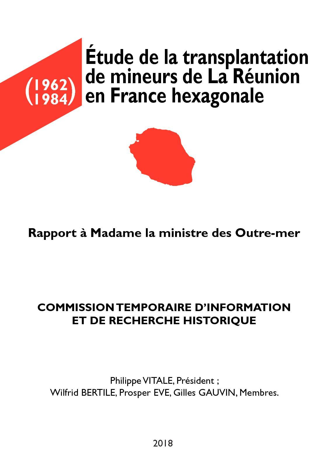 86777993f353c4 Calaméo - Étude de la transplantation de mineurs de La Réunion en France  hexagonale (1962 - 1984)
