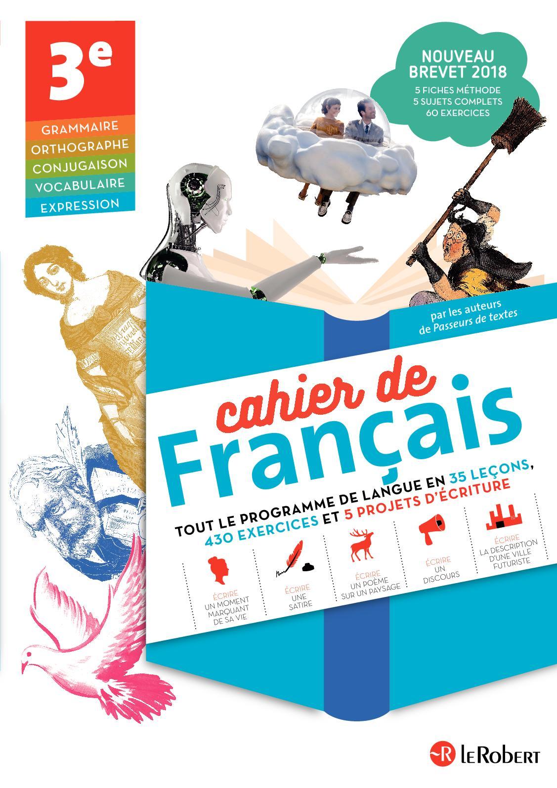 Cahier De Francais Brevet Calameo Adacosta