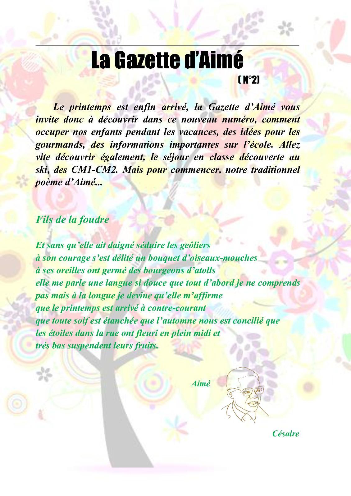 Calaméo Gazette Daimé N2