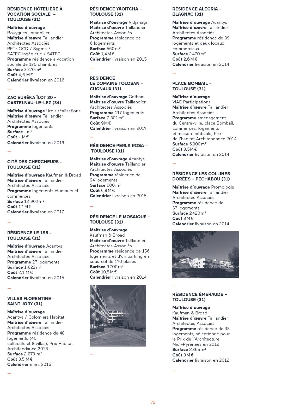 Calendrier Gotham.Portfolio 3 Taillandier Architectes Associes Calameo