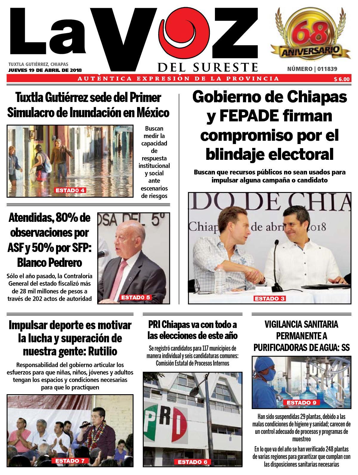 d44f50ff Calaméo - Diario La Voz del Sureste