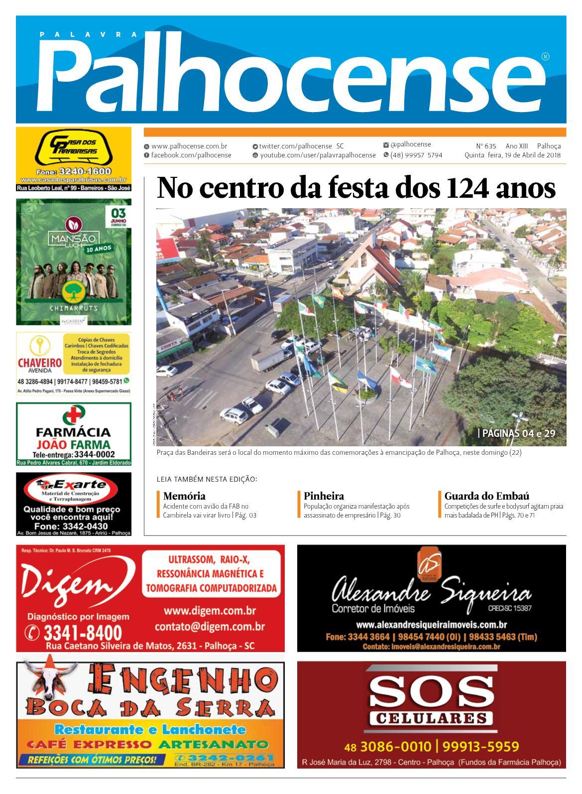 Calaméo - JORNAL PALAVRA PALHOCENSE - EDIÇÃO 635 b372f111334e4