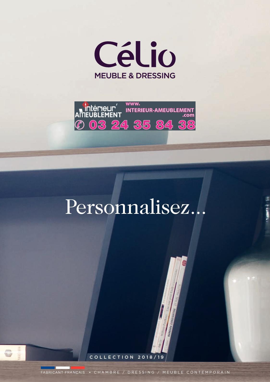 Dressing 30 Cm Profondeur calaméo - catalogue celio chambre dressing 2018-interieur